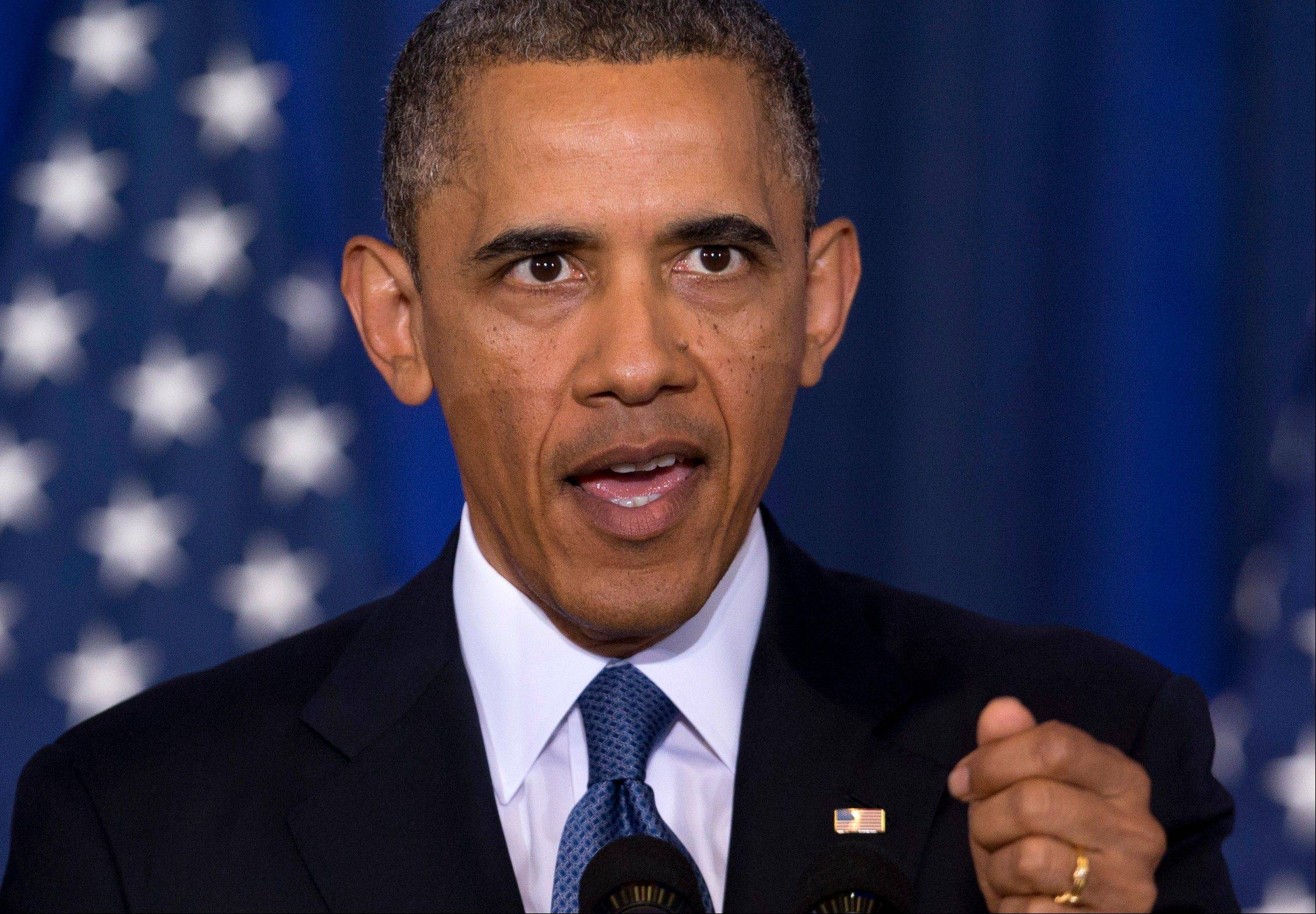 Obama balances threats against Americans' rights