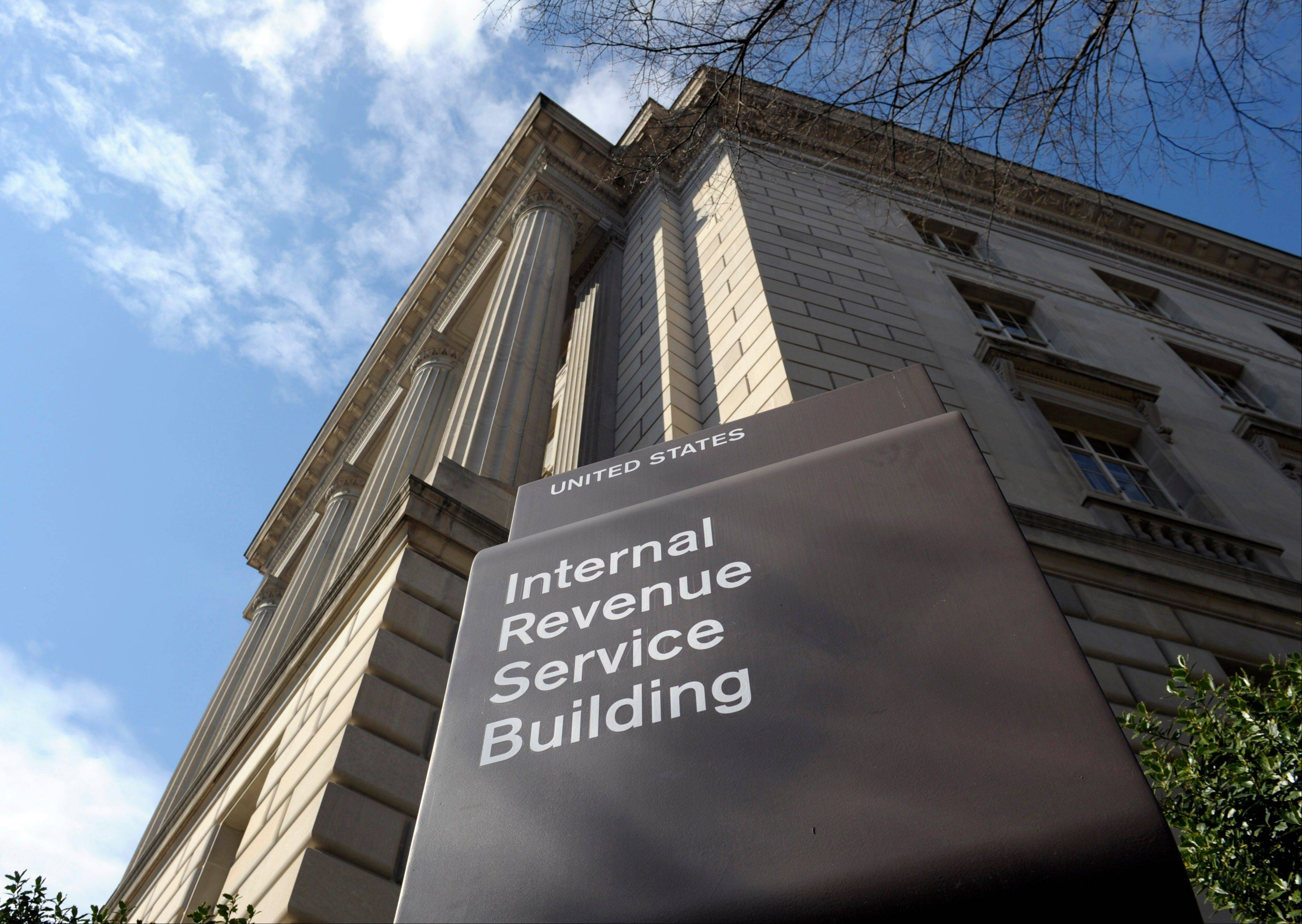 The exterior of the Internal Revenue Service building in Washington. No one answered the phone Friday at the IRS hotline for tax help.