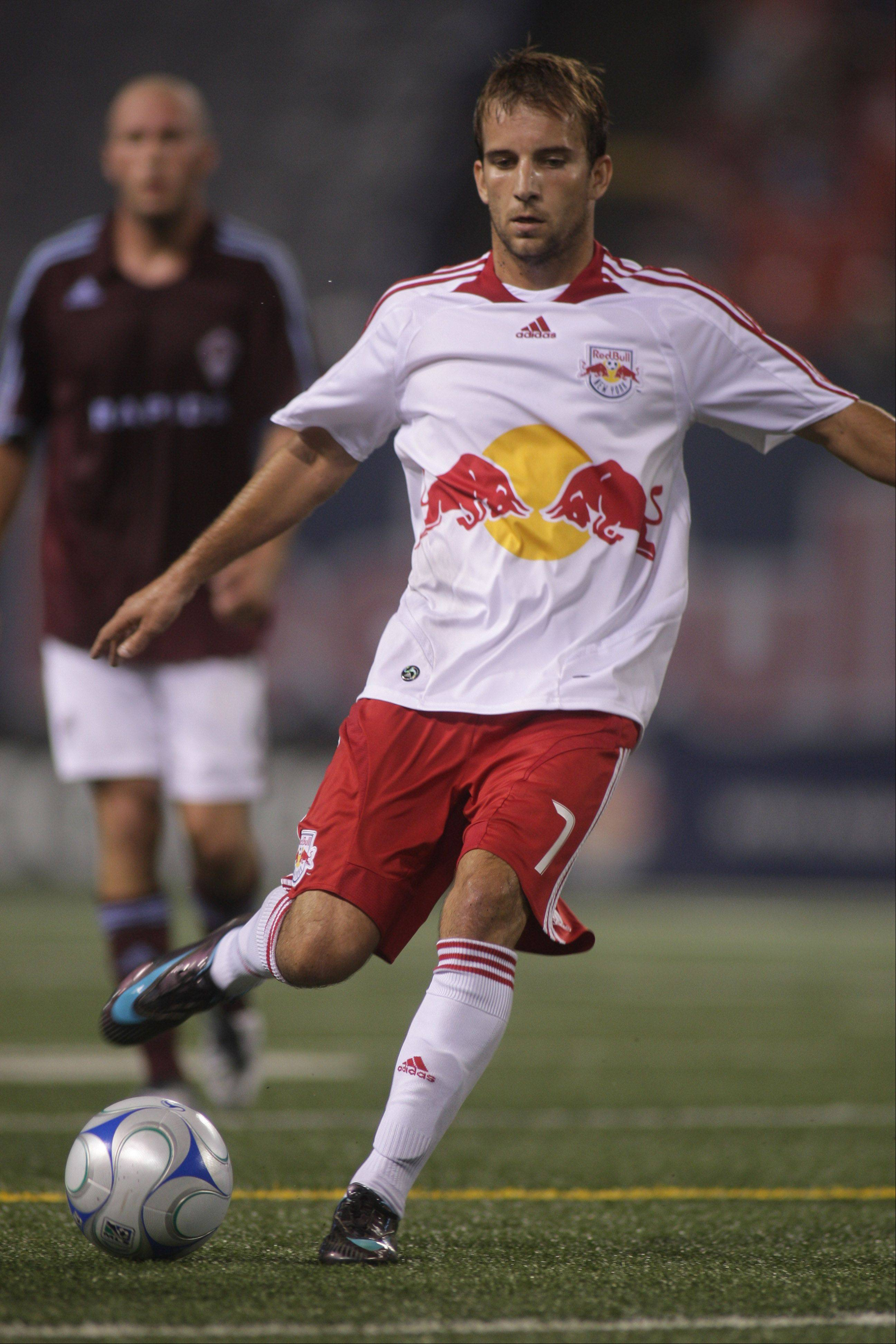 Mike Magee of the New York Red Bulls ¬ ¬ Photo by Mike Stobe/Getty Images