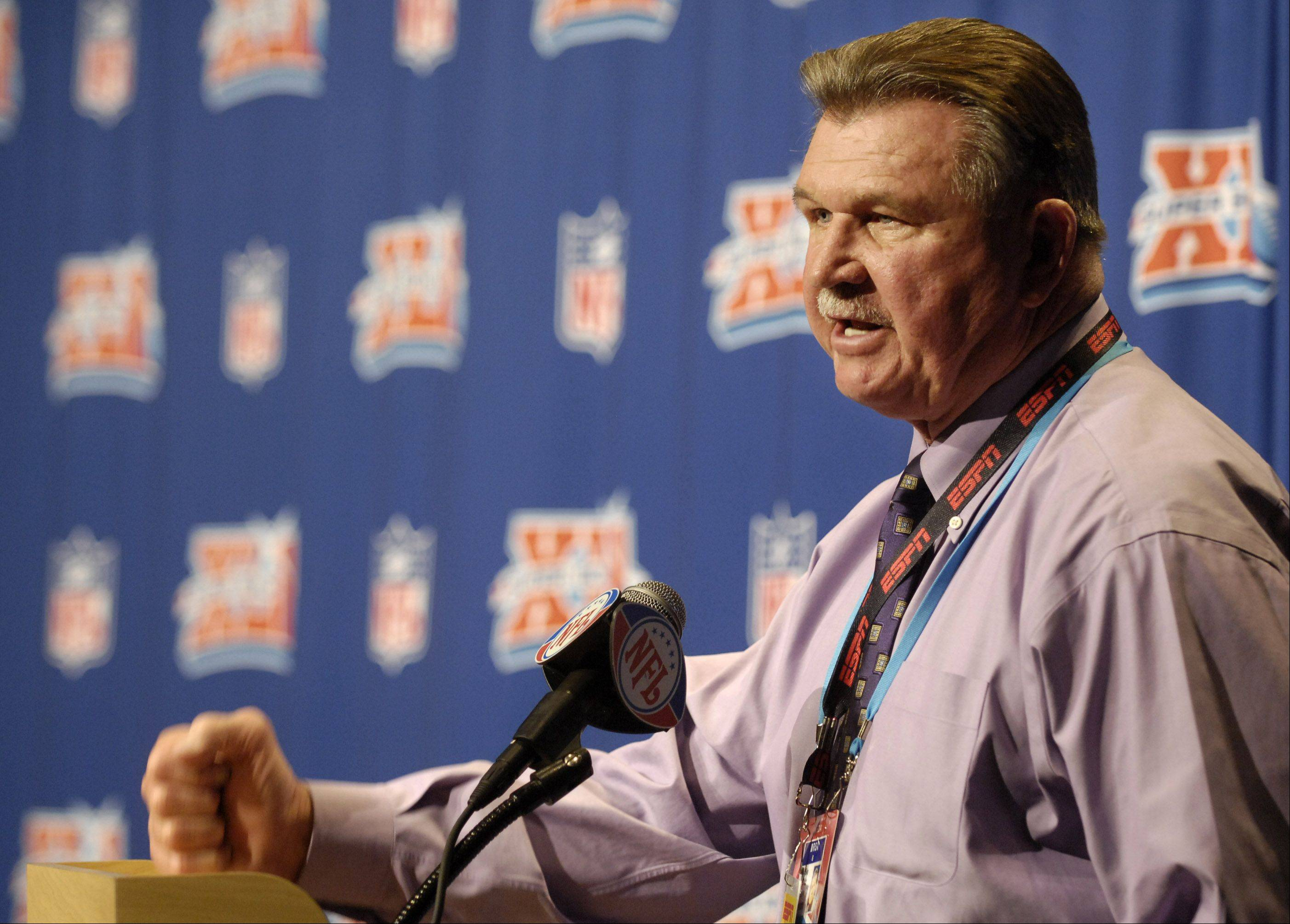 The Chicago Bears will retire Mike Ditka's jersey number 89.