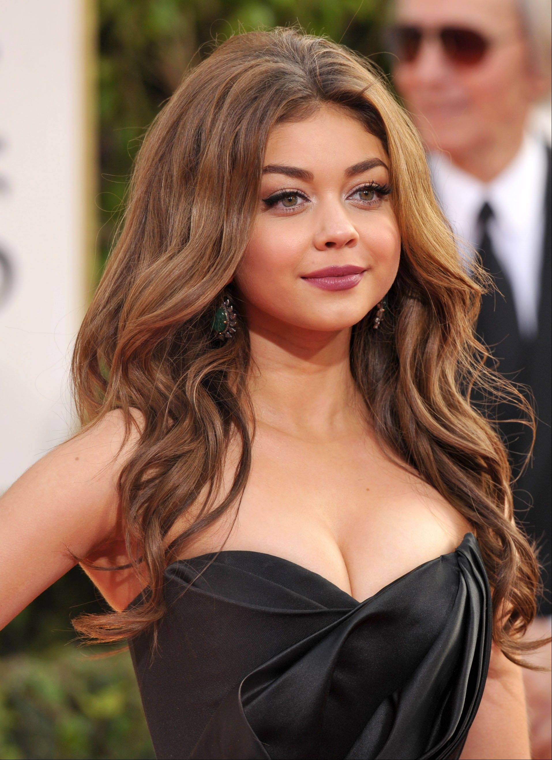 Actress Sarah Hyland, 22, is a swimsuit model for OP.