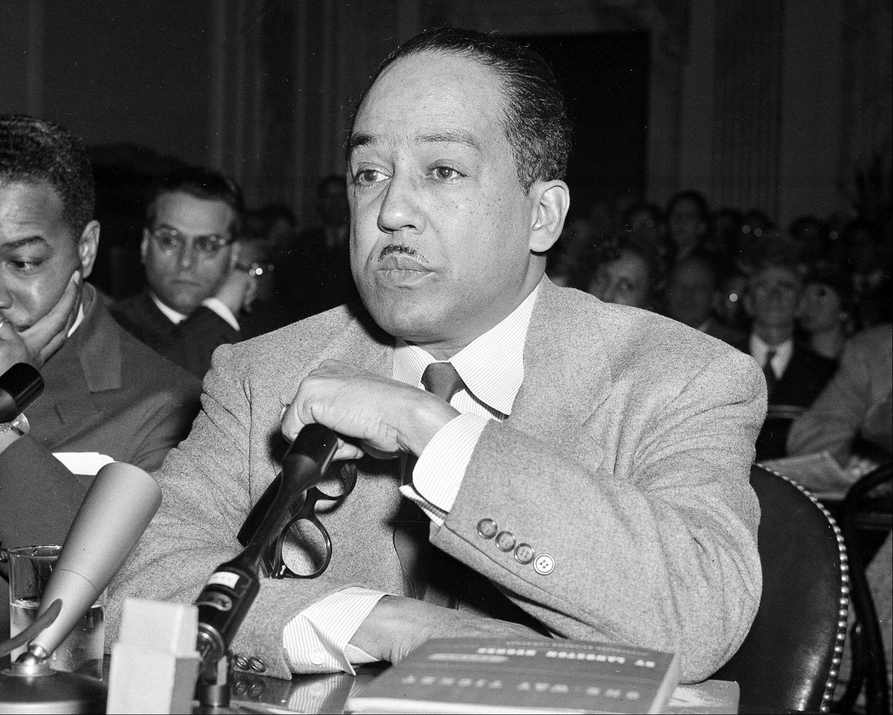 Poet and author Langston Hughes, along with Adrienne Rich, Allen Ginsberg, and Wallace Stevens are among the poets whose work recently became available in electronic format.