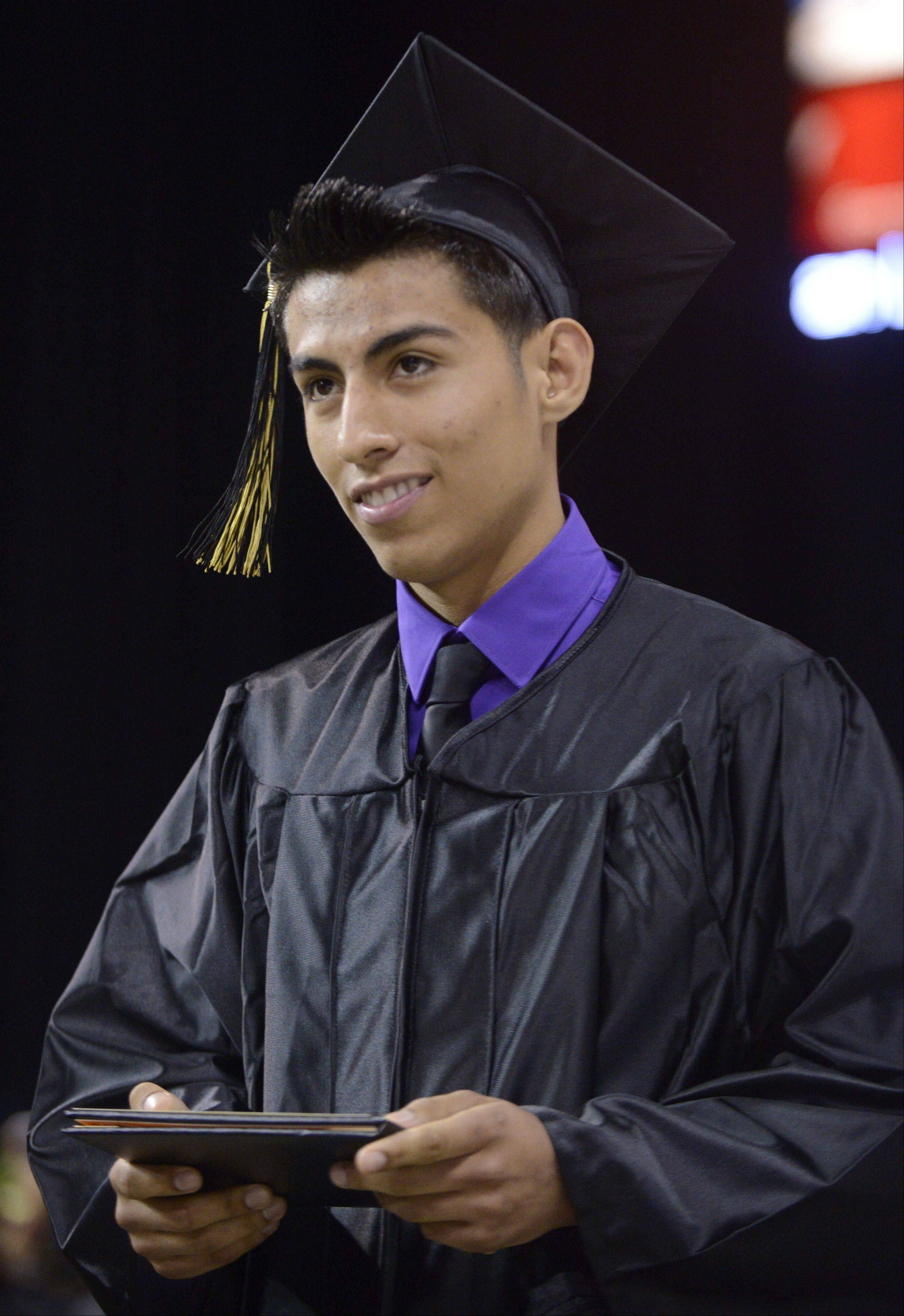 Images from the Streamwood High School commencement ceremony Saturday, May 25, 2013 at the Sears Centre in Hoffman Estates.
