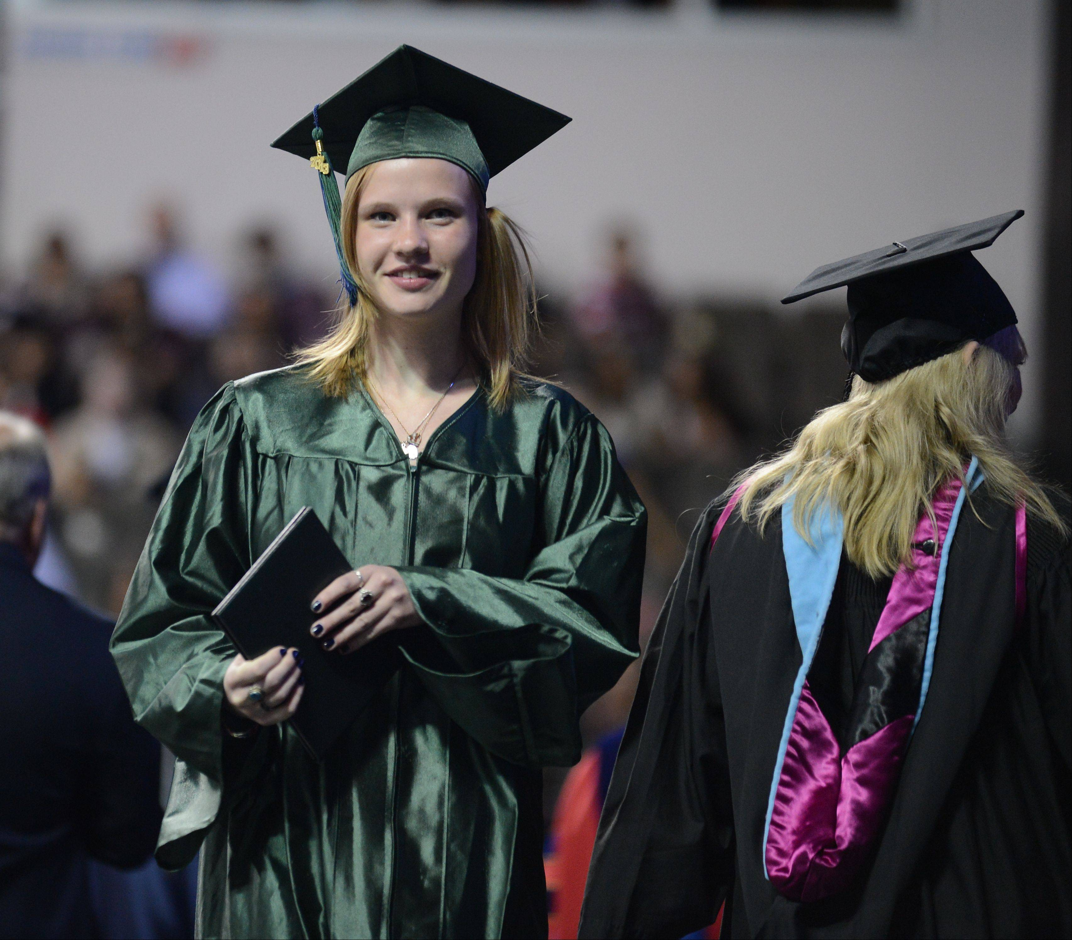 Images from the Bartlett High School commencement ceremony Saturday, May 25, 2013 at the Sears Centre in Hoffman Estates.