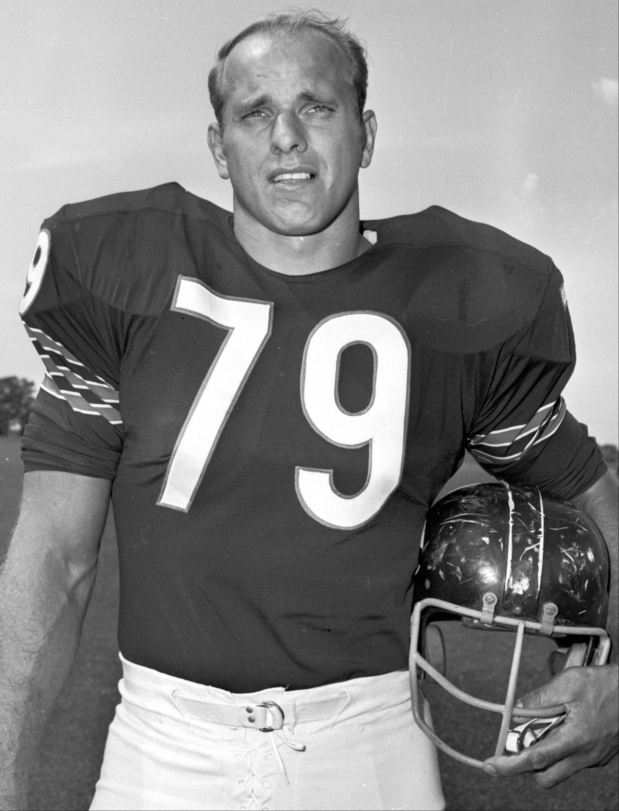 Chicago Bear Dick Evey