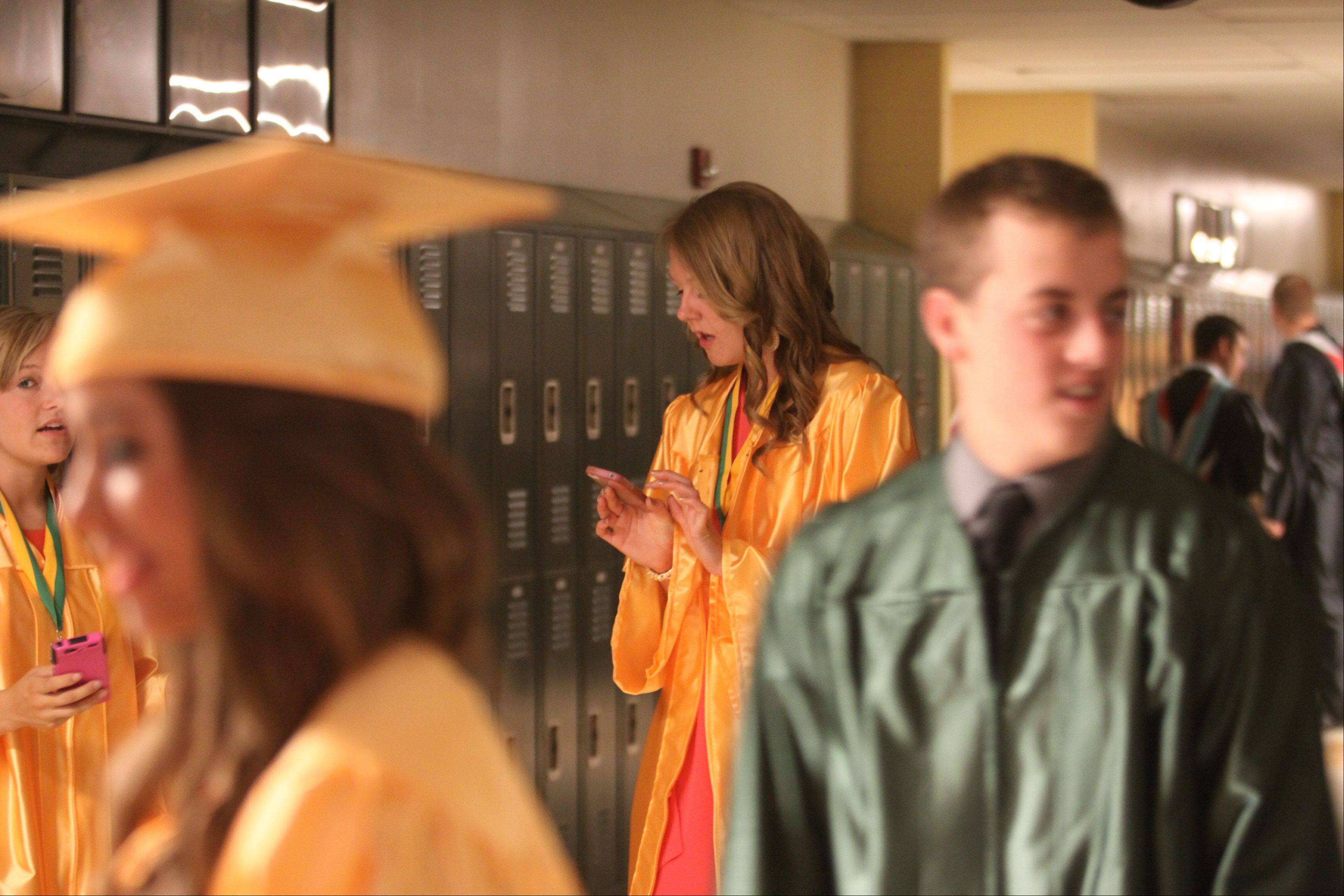 Images from the Crystal Lake South commencement ceremony Saturday, May 25, 2013 in Crystal Lake.