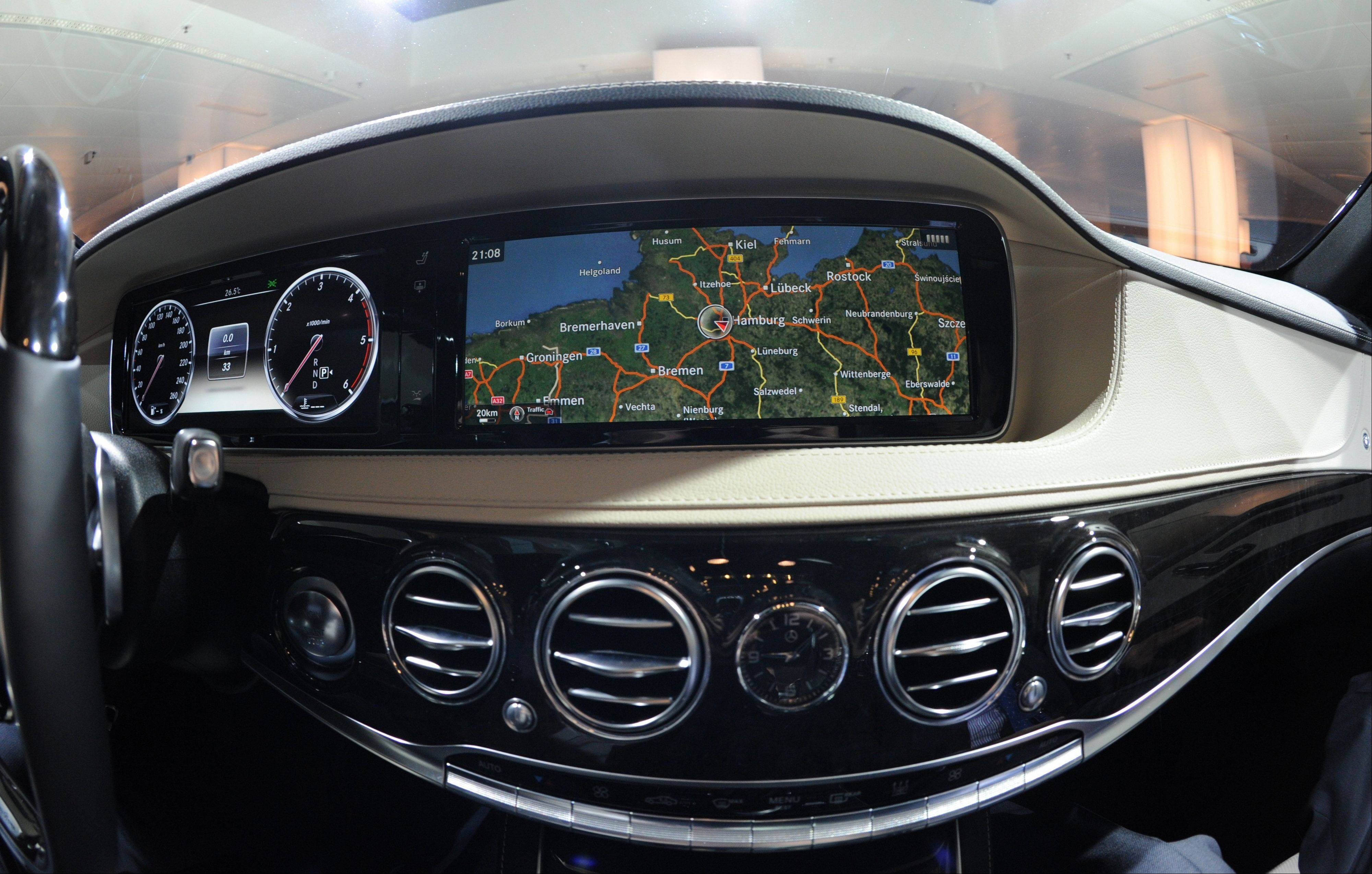 Back-seat amenities are critical to reviving the Mercedes brand among well-heeled Chinese, who account for more than half of all worldwide sales of the S-class.