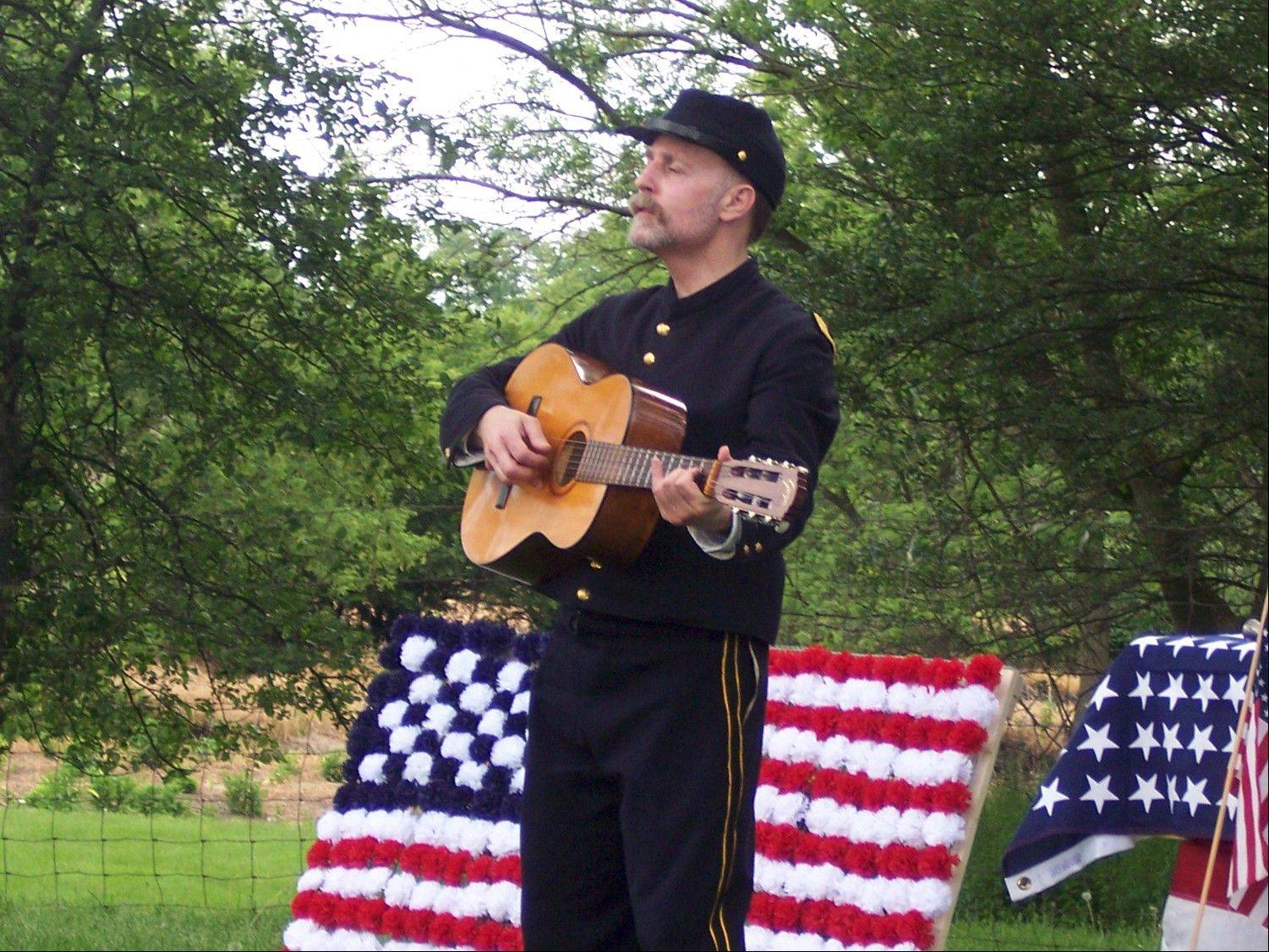 "Step back in time to see an 1890s ceremony honoring fallen soldiers at the ""Memorial Day Remembered"" event at Kline Creek Farm."