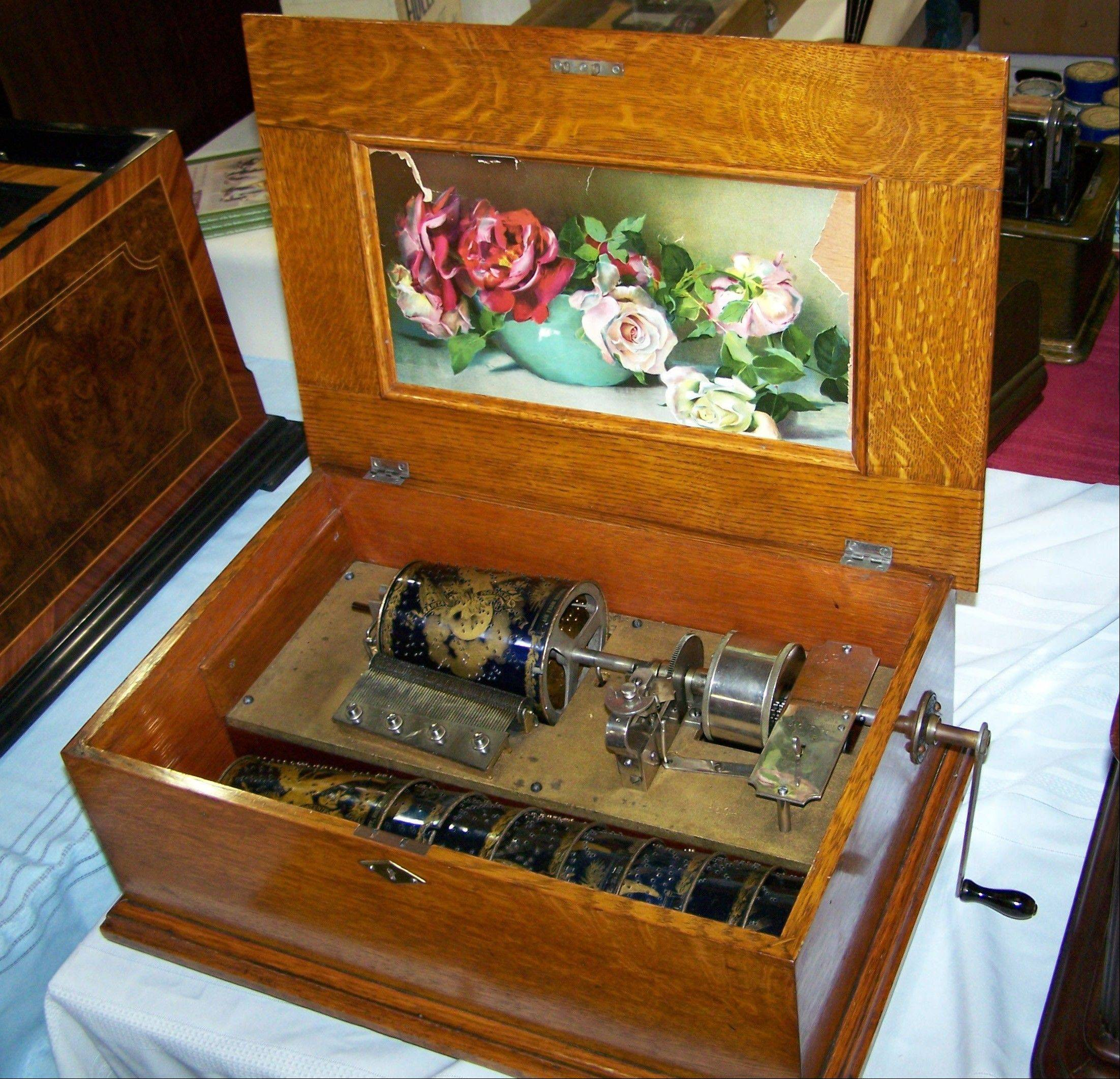 The 38th Annual Phonograph and Music Box Show, with hundreds of antique photographs, music boxes and radios, is coming to Donley's Wild West Town in Union, Ill.