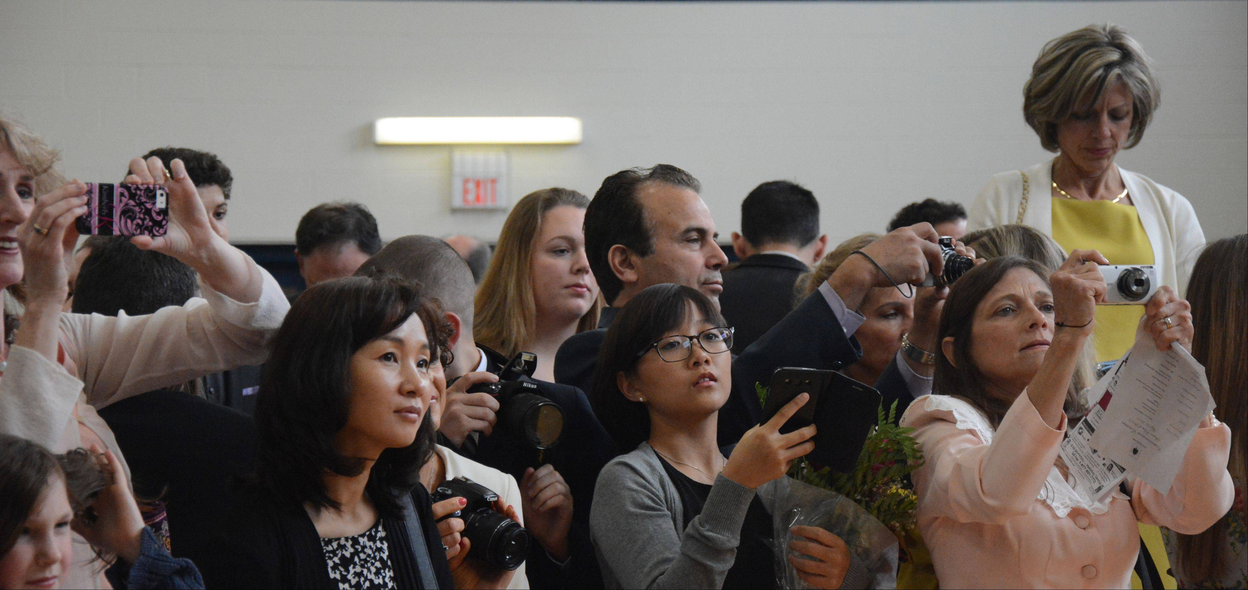 Images from the Willows Academy graduation on Sunday, May 26, in Des Plaines.