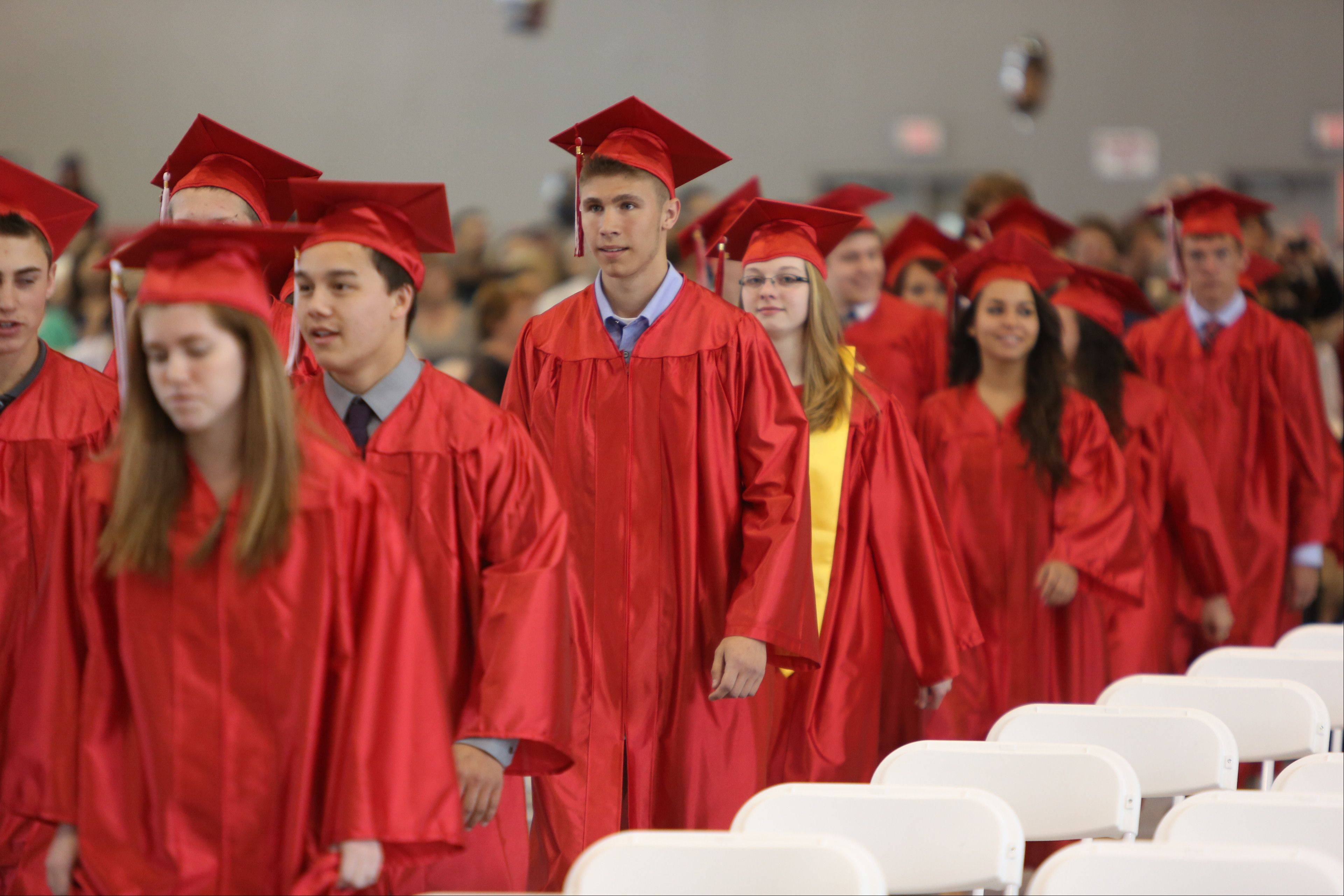 Images from the Grant Community High School graduation on Sunday, May 26 in Fox Lake.