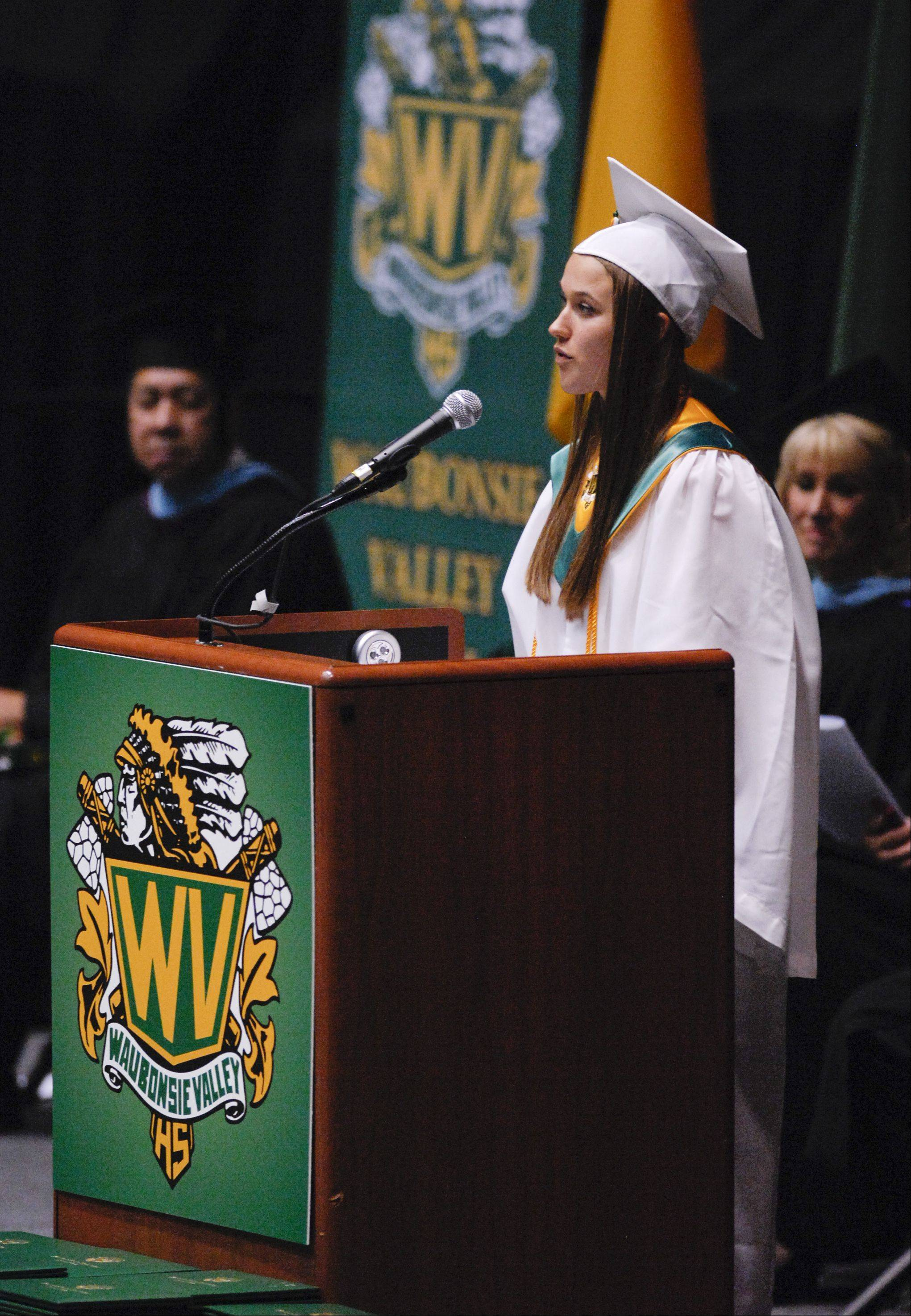 Images from the Waubonsie Valley High School graduation on Sunday, May 26 at the NIU Convocation Center in DeKalb.