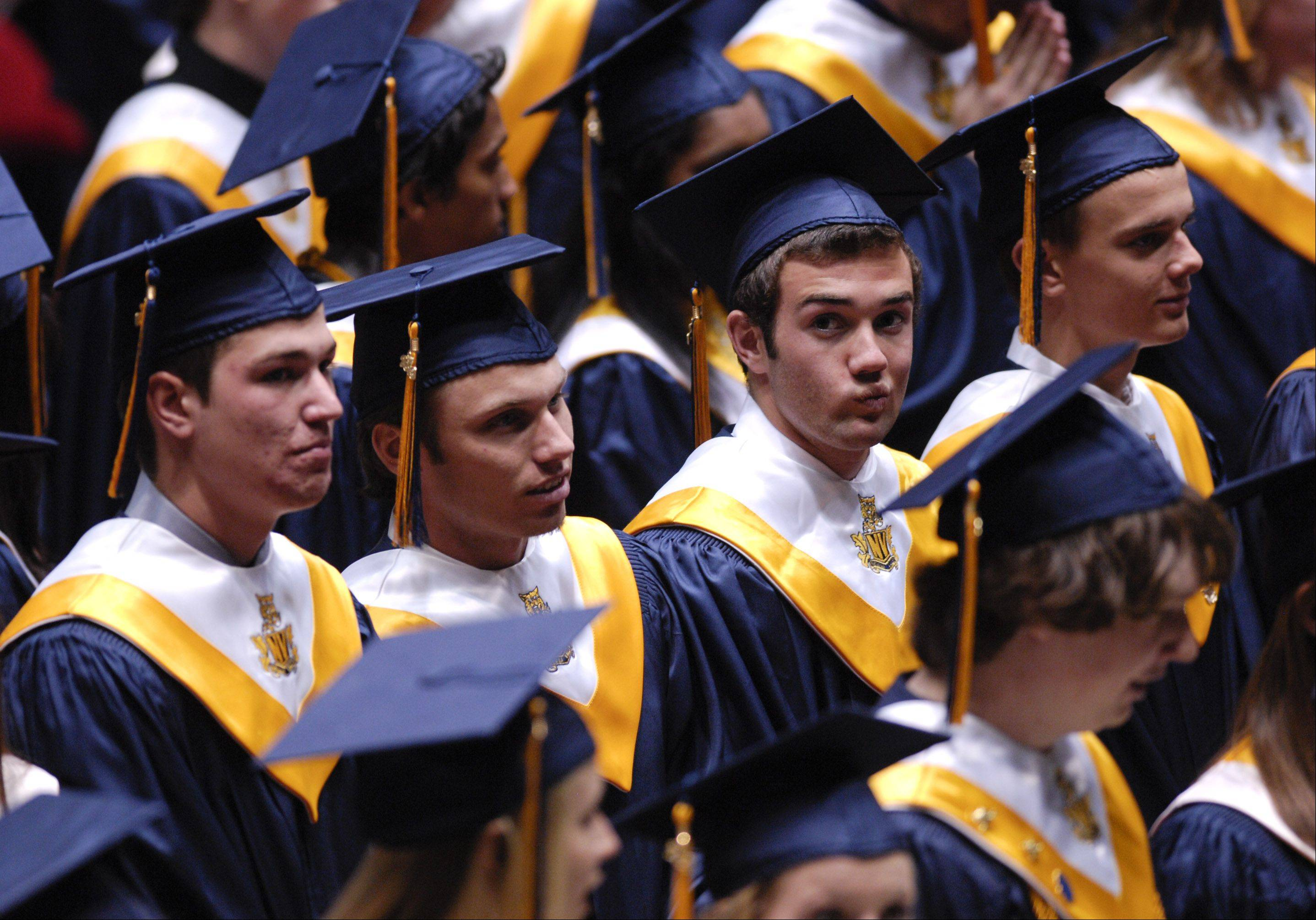 Images from the Neuqua Valley High School graduation on Sunday, May 26 at the NIU Convocation Center in DeKalb.