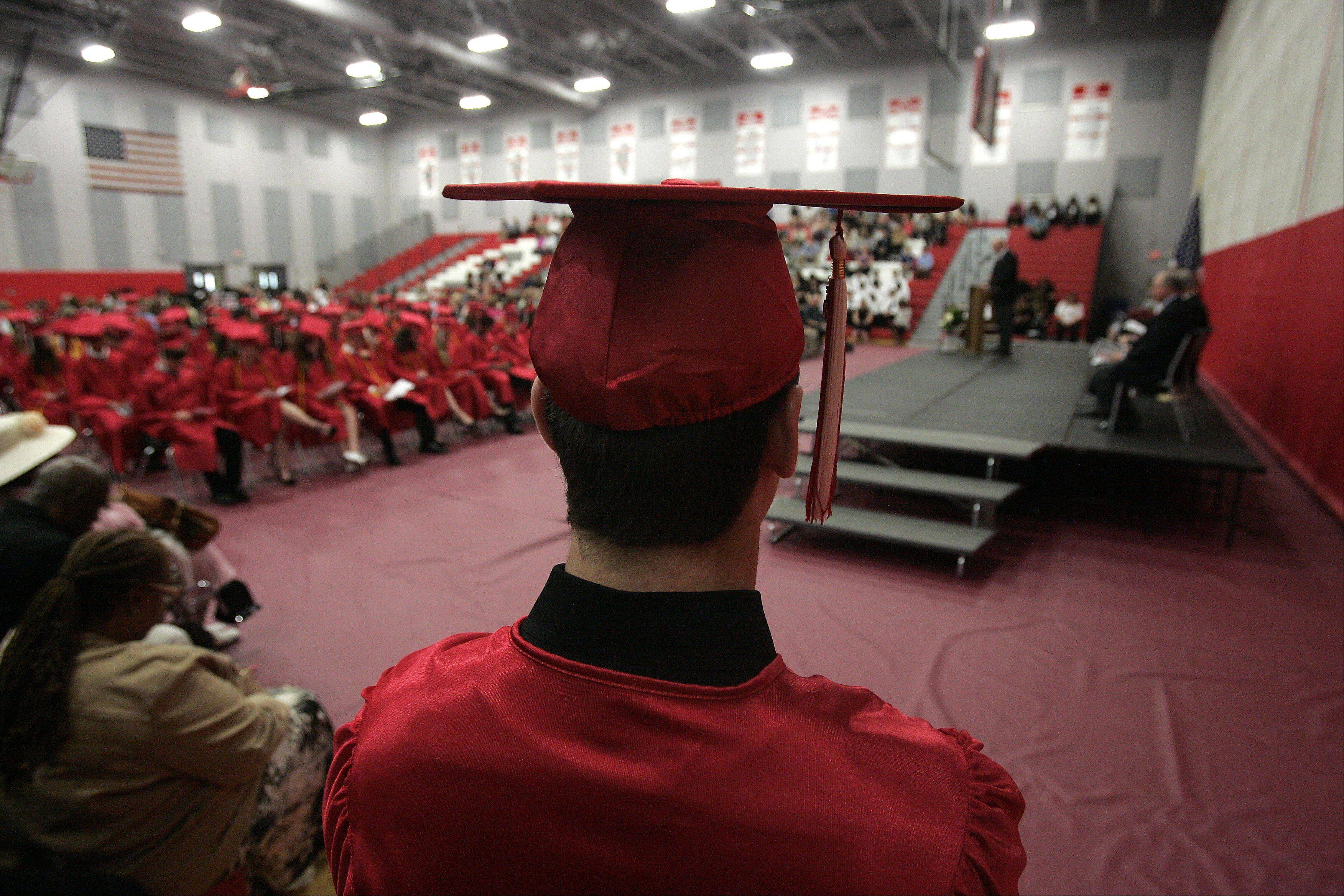 Images from the Aurora Christian commencement ceremony Sunday, May 26, 2013 in Aurora.
