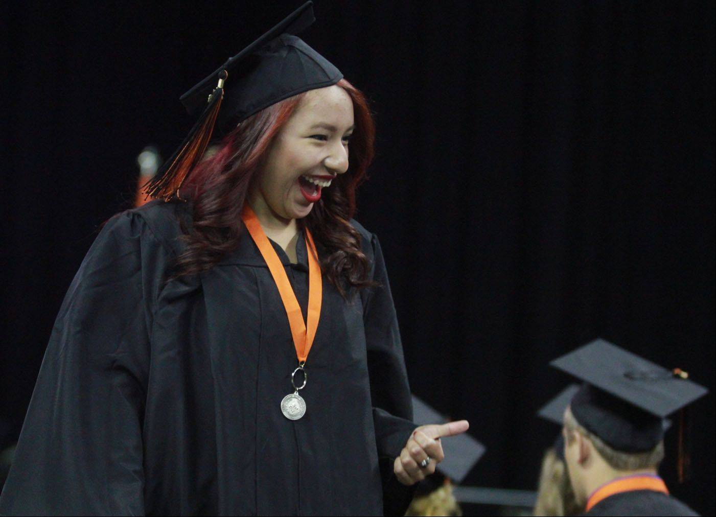 Images from the St Charles East High School commencement ceremony Sunday, May 26, 2013 at the Sears Centre in Hoffman Estates.
