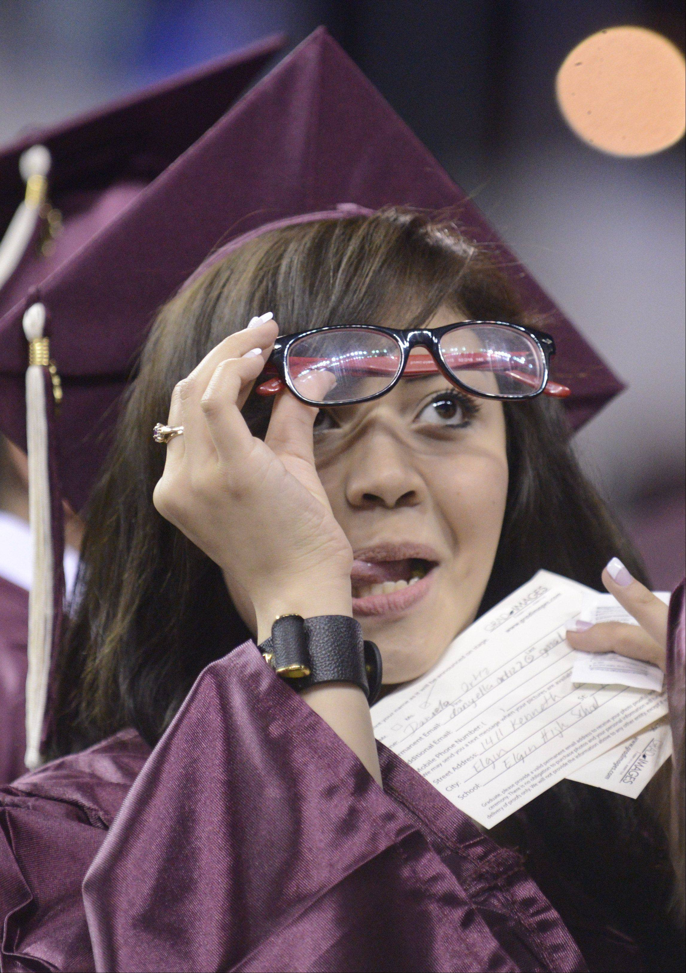 Images from the Elgin High School commencement ceremony Saturday, May 25, 2013 at the Sears Centre in Hoffman Estates.