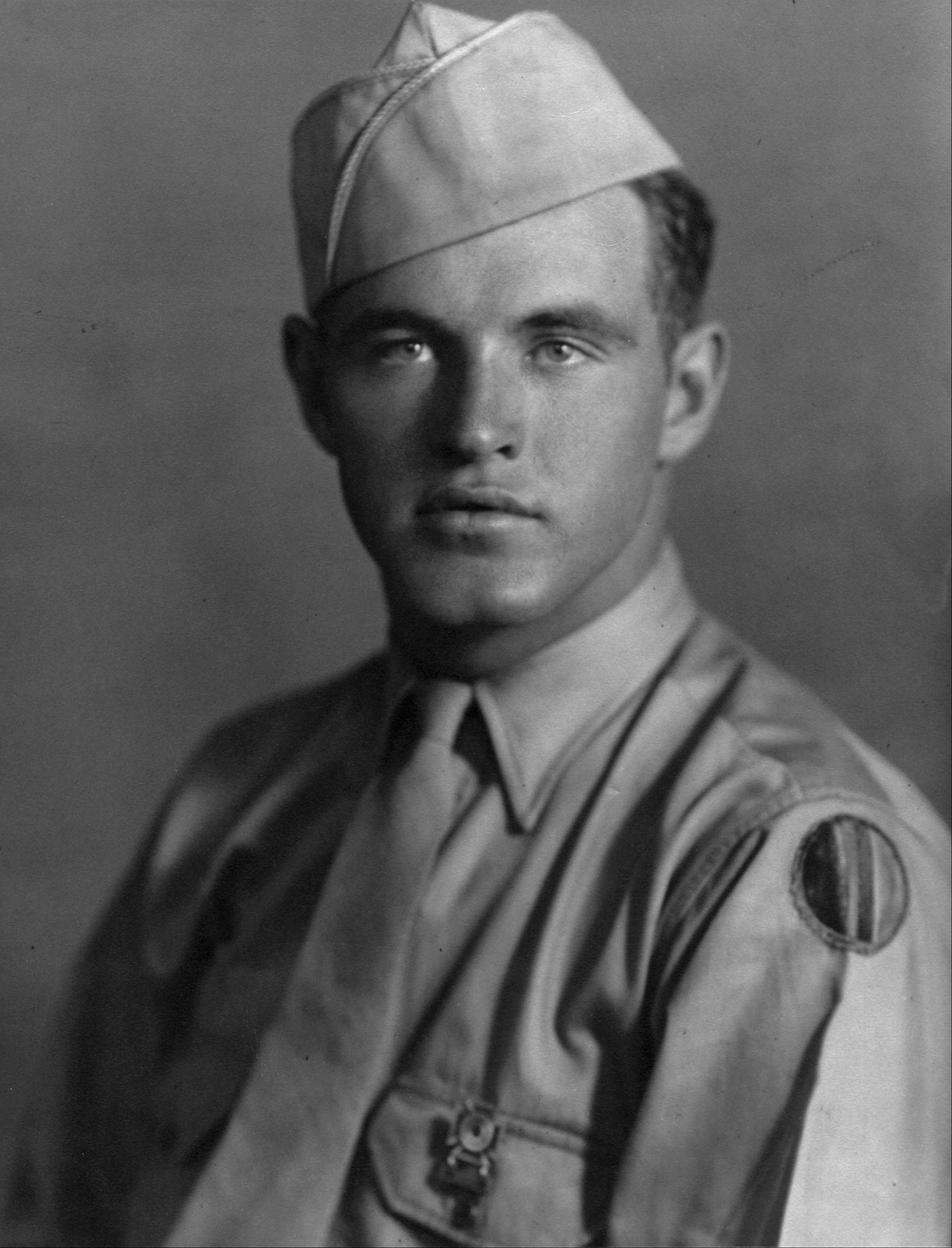This World War II-era photo provided by the family shows James Capps in uniform.