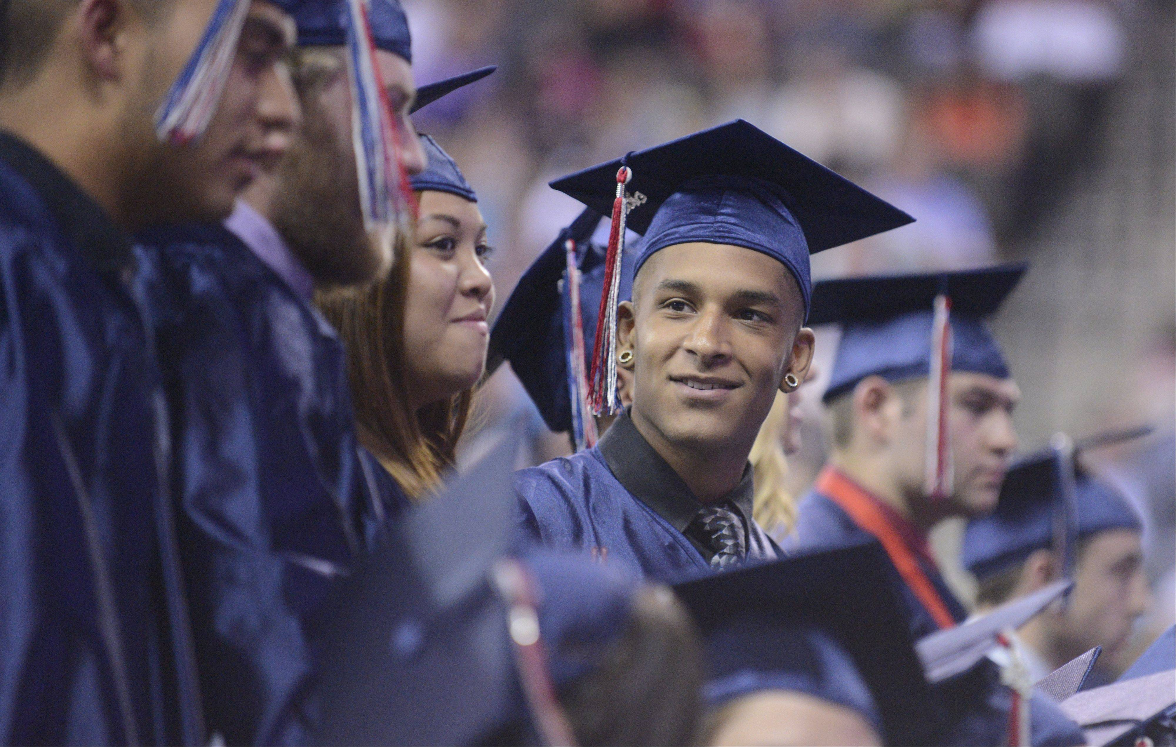 Images from the South Elgin High School commencement ceremony Saturday, May 25, 2013 at the Sears Centre in Hoffman Estates.