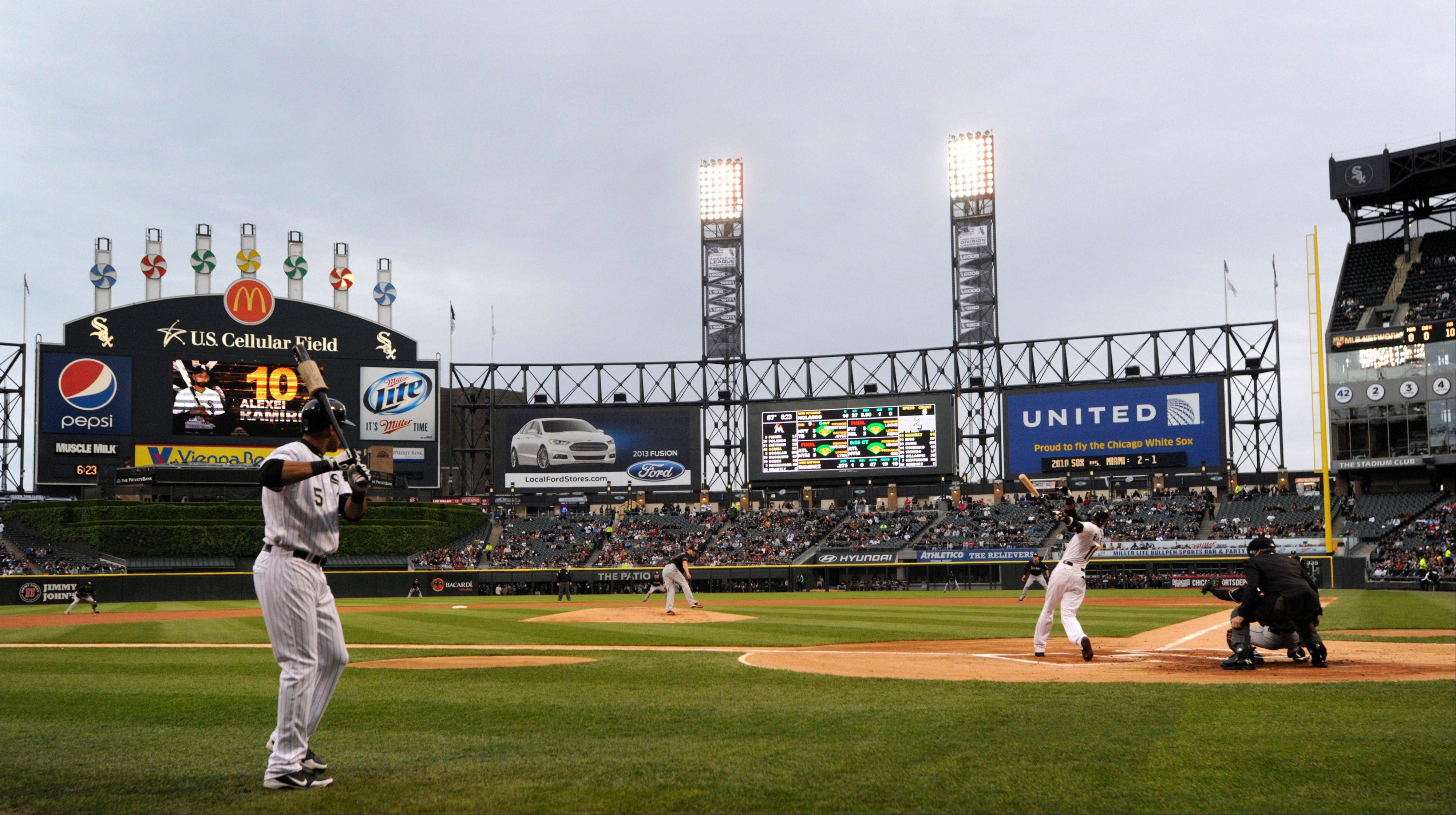 U.S. Cellular Field hosts the first two of four games this week pitting the White Sox against the Cubs.