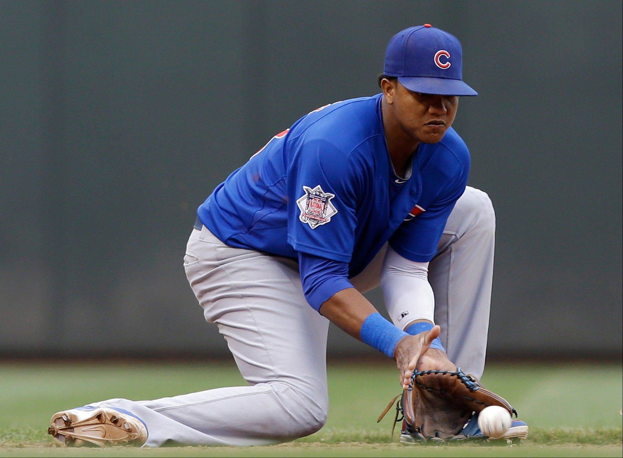 Shortstop Starlin Castro and the Cubs take on the White Sox on Monday night in the first of four straight games between the cross-town rivals.