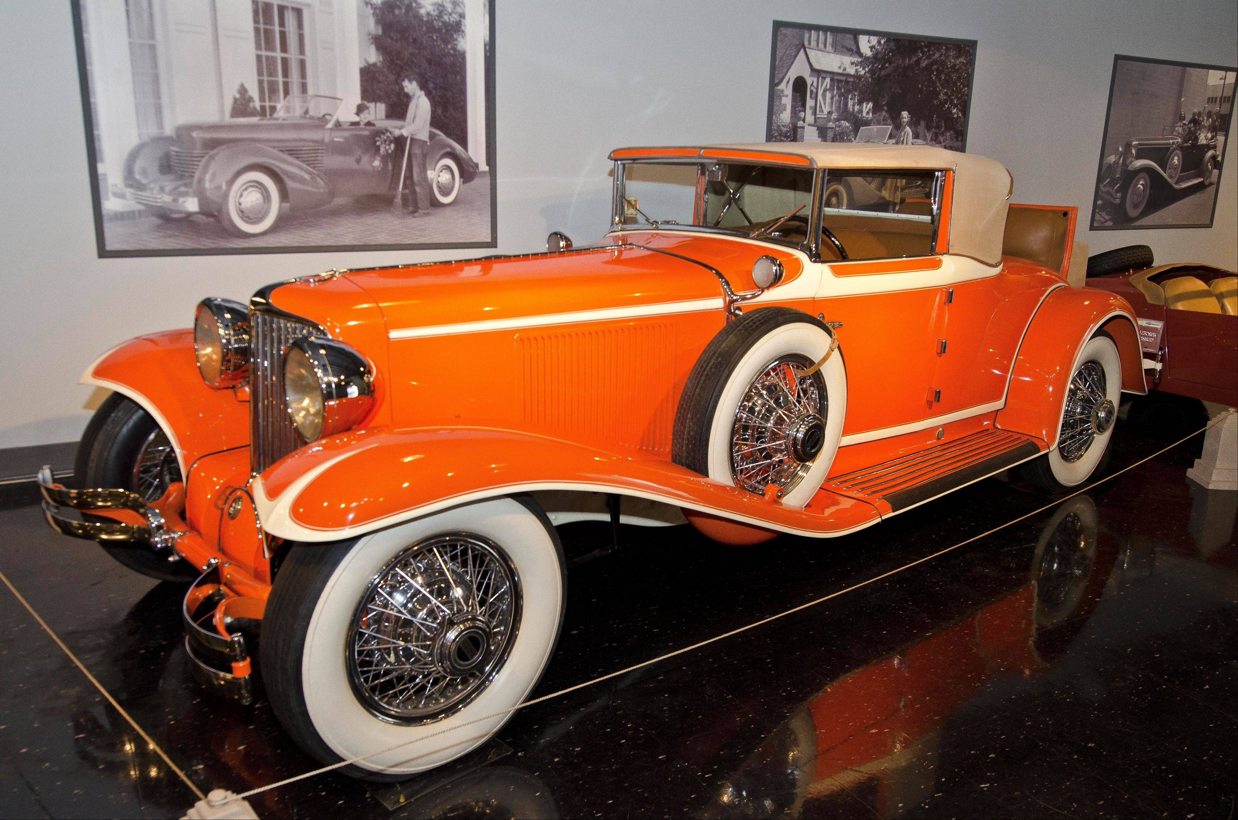 This 1930 Cord L-29 Cabriolet was at one time owned by the Frank Lloyd Wright Foundation and may have been used by the architect for a short time.