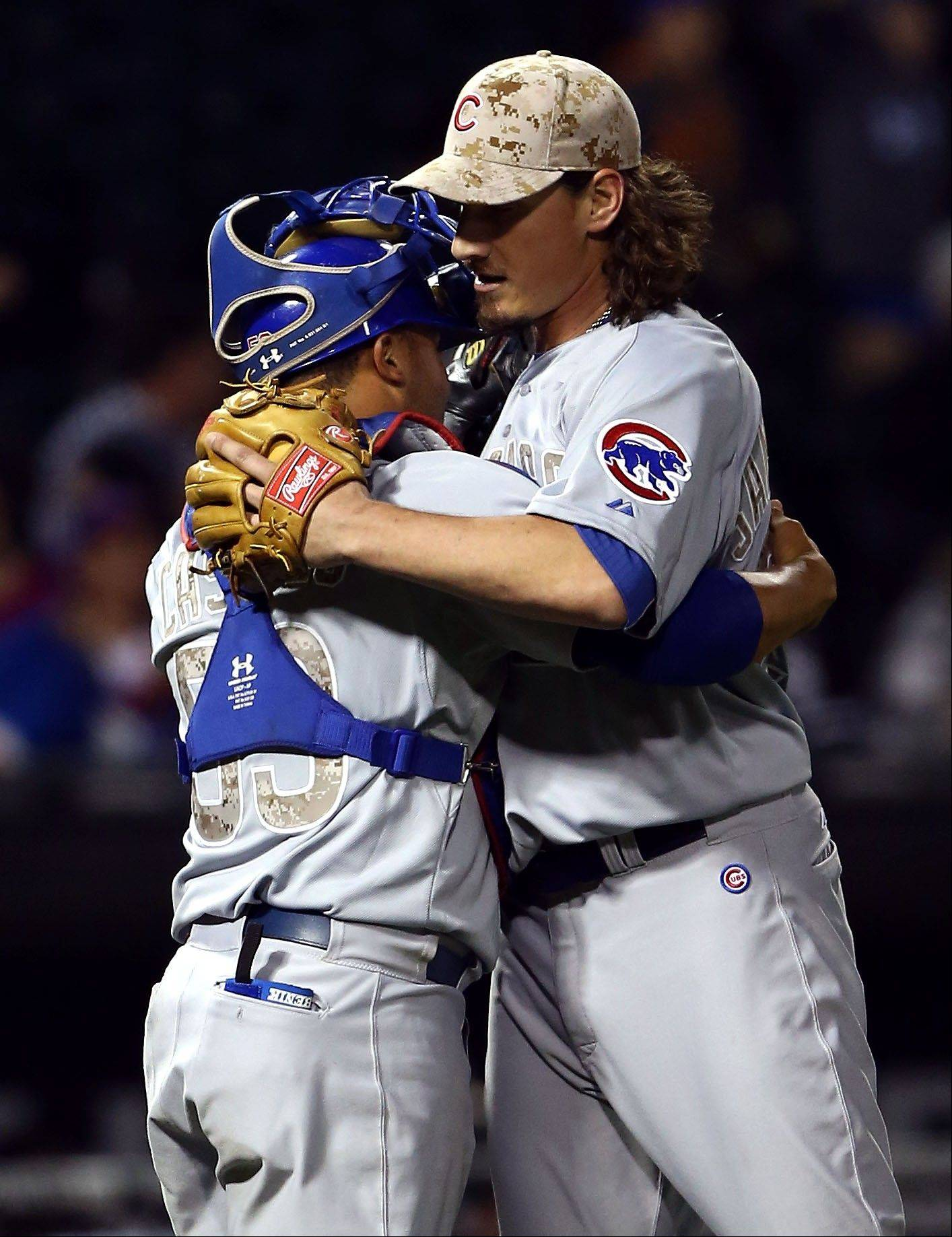 Cubs' Samardzija comes up all aces in shutting out White Sox