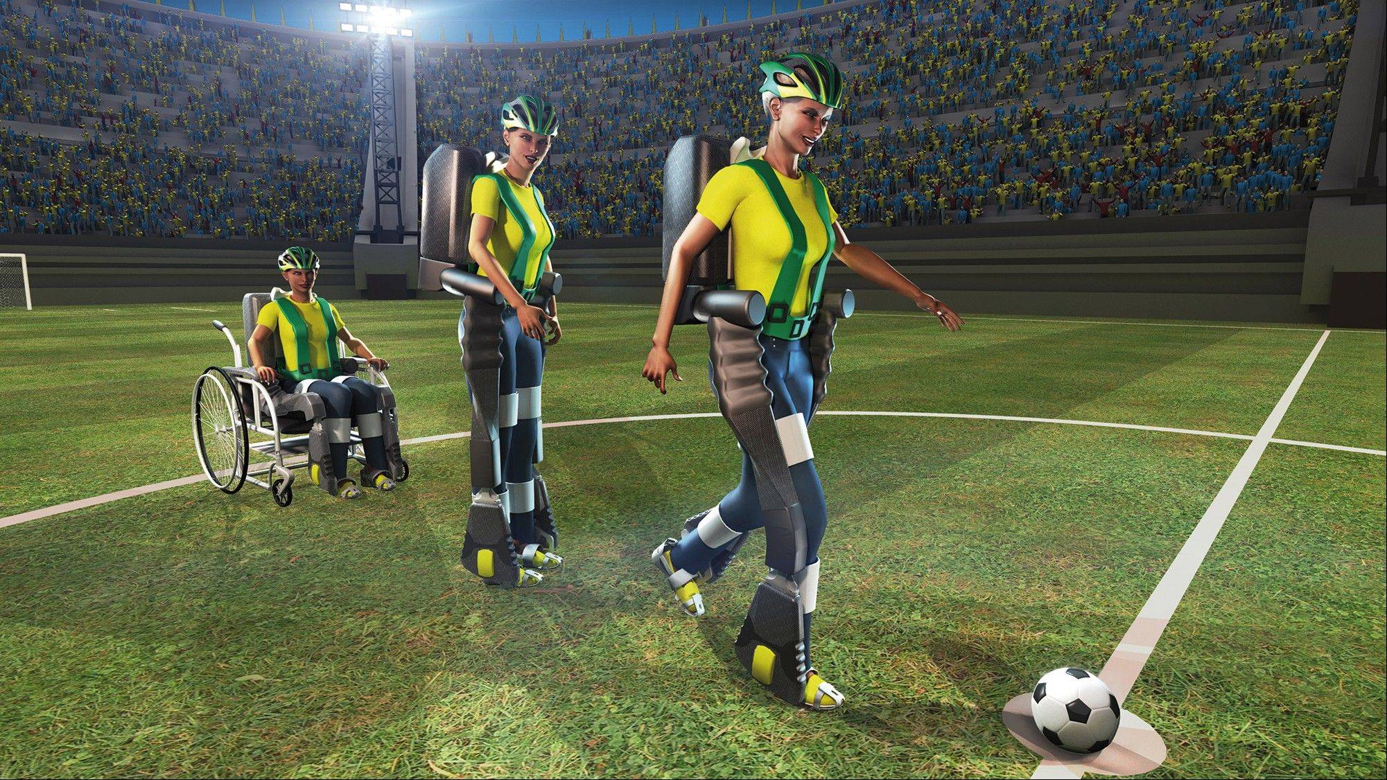 Scientists hope to have a disabled teenager kick off the 2014 World Cup in Brazil.