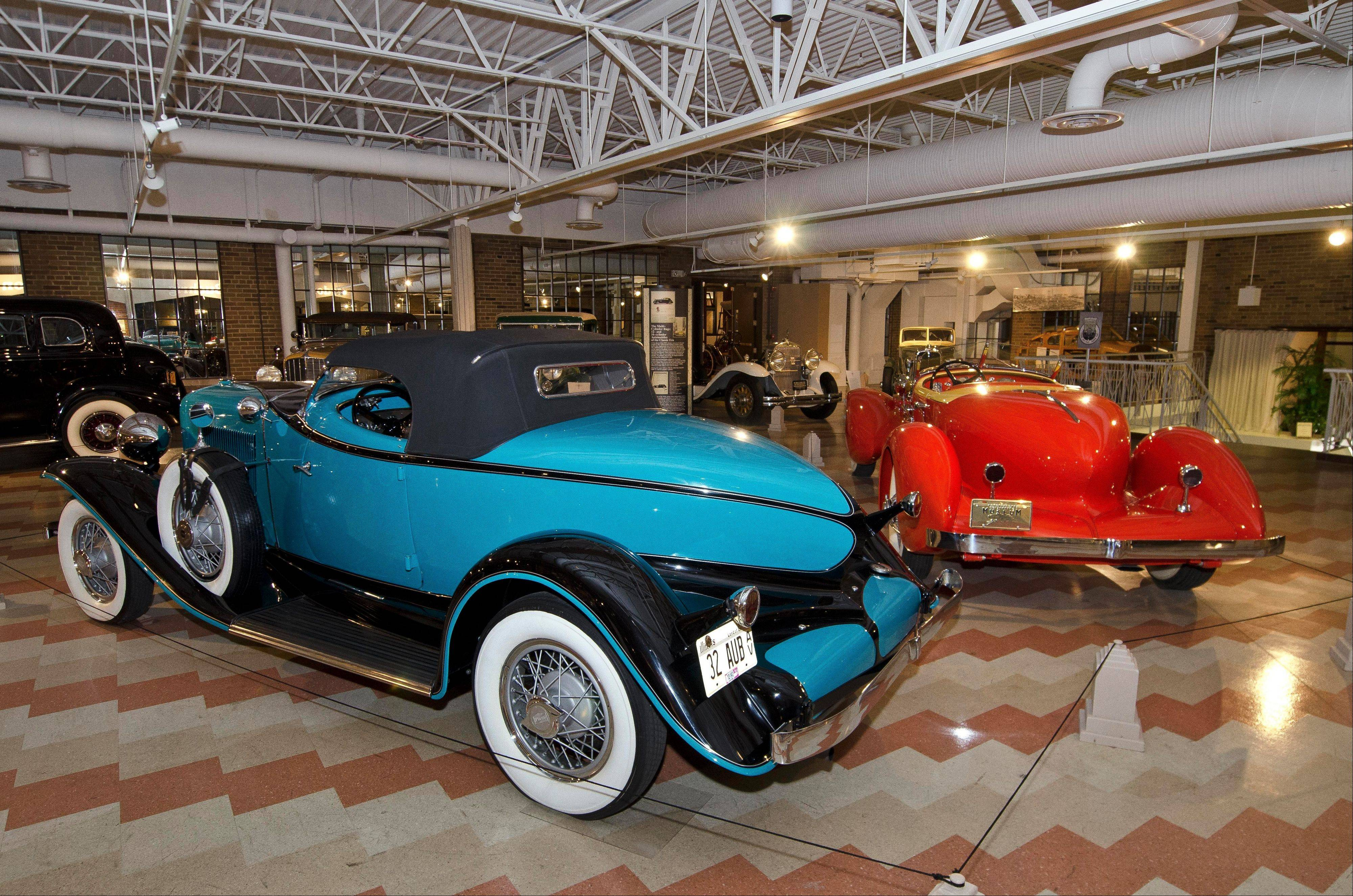 About 120 Auburn, Cord and Duesenberg vehicles are in the museum/s permanent collection.