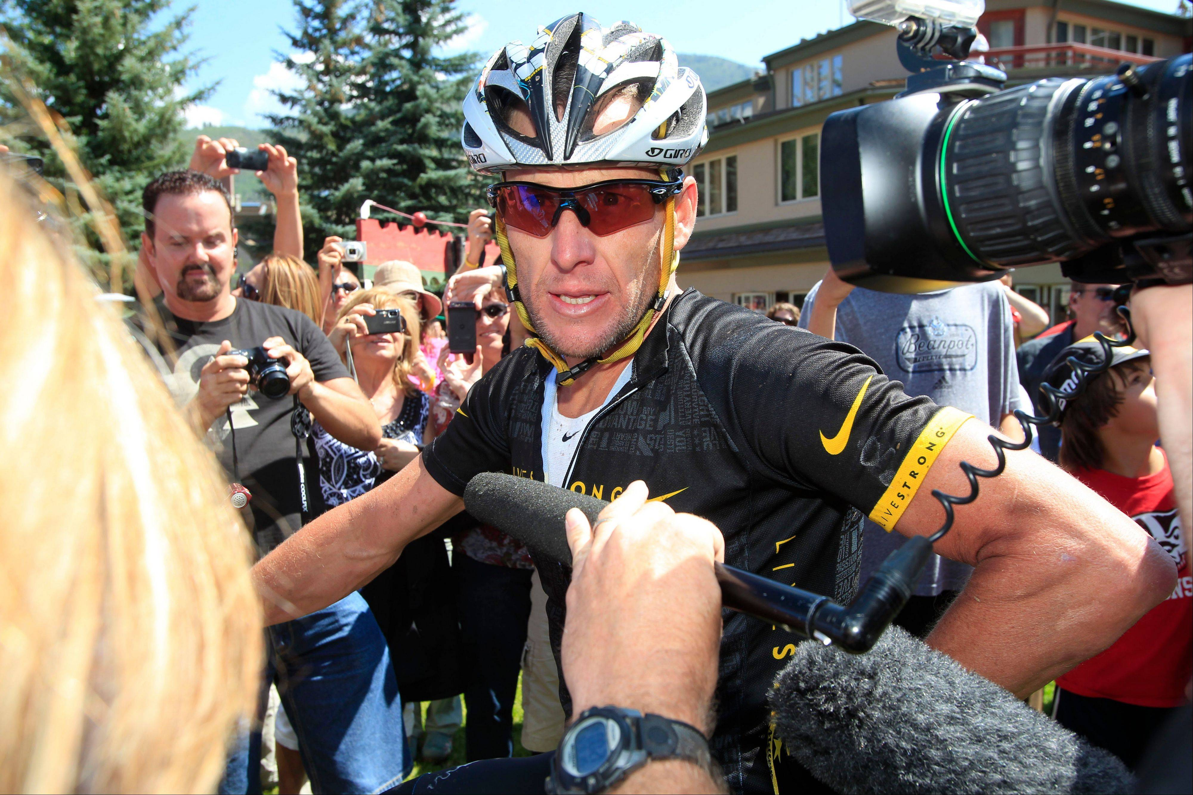 Nike Inc. is cutting ties with the Livestrong cancer charity founded by Armstrong. The move by the sports company is the latest fallout in the doping scandal surrounding the former cyclist, who now admits he used performance-enhancing drugs to win the Tour de France seven times.