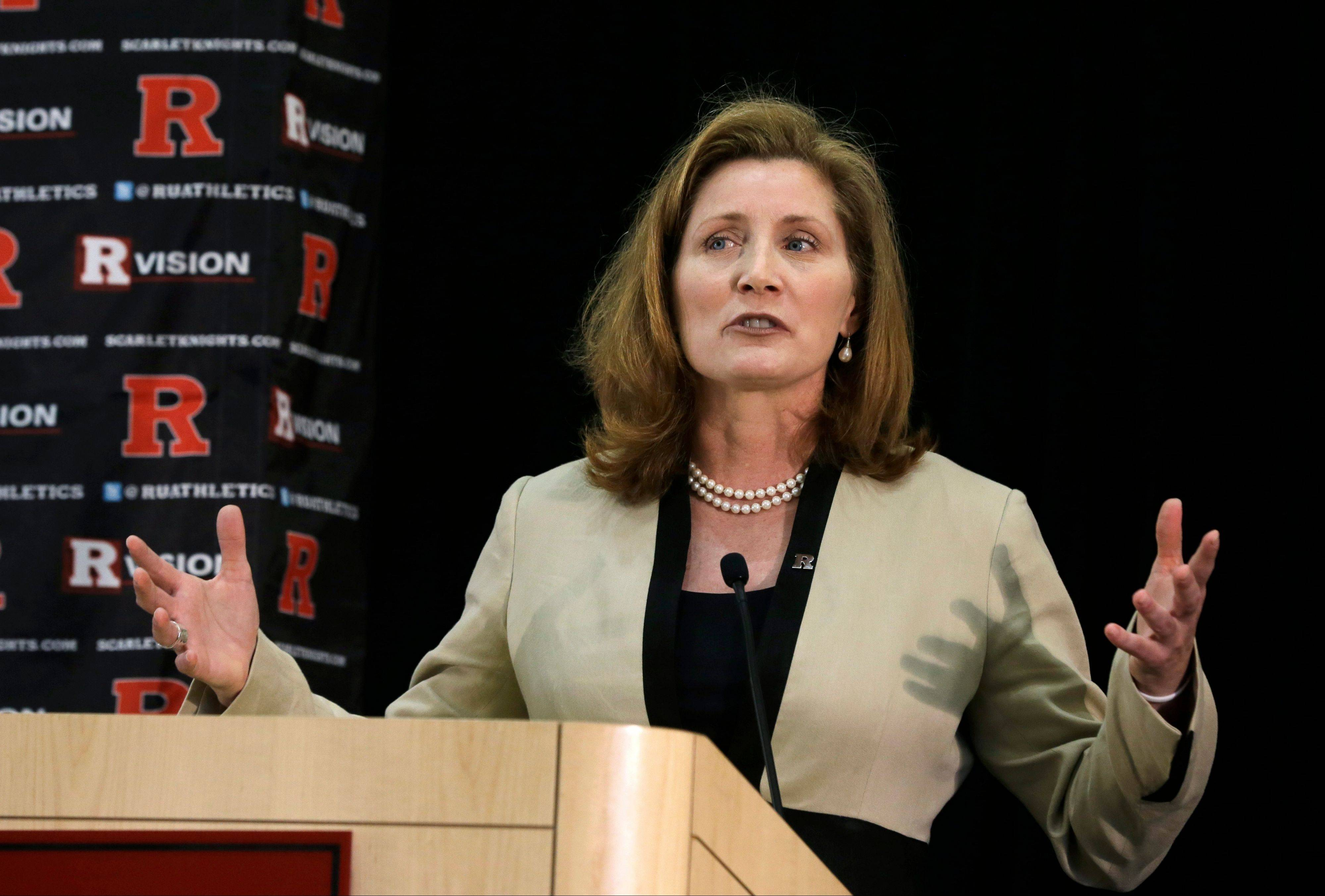 Julie Hermann, hired to clean up Rutgers' scandal-scarred athletic program, quit as Tennessee's women's volleyball coach 16 years ago after her players submitted a letter complaining she ruled through humiliation, fear and emotional abuse, The Star-Ledger reported Saturday, May 25, 2013, on its website.