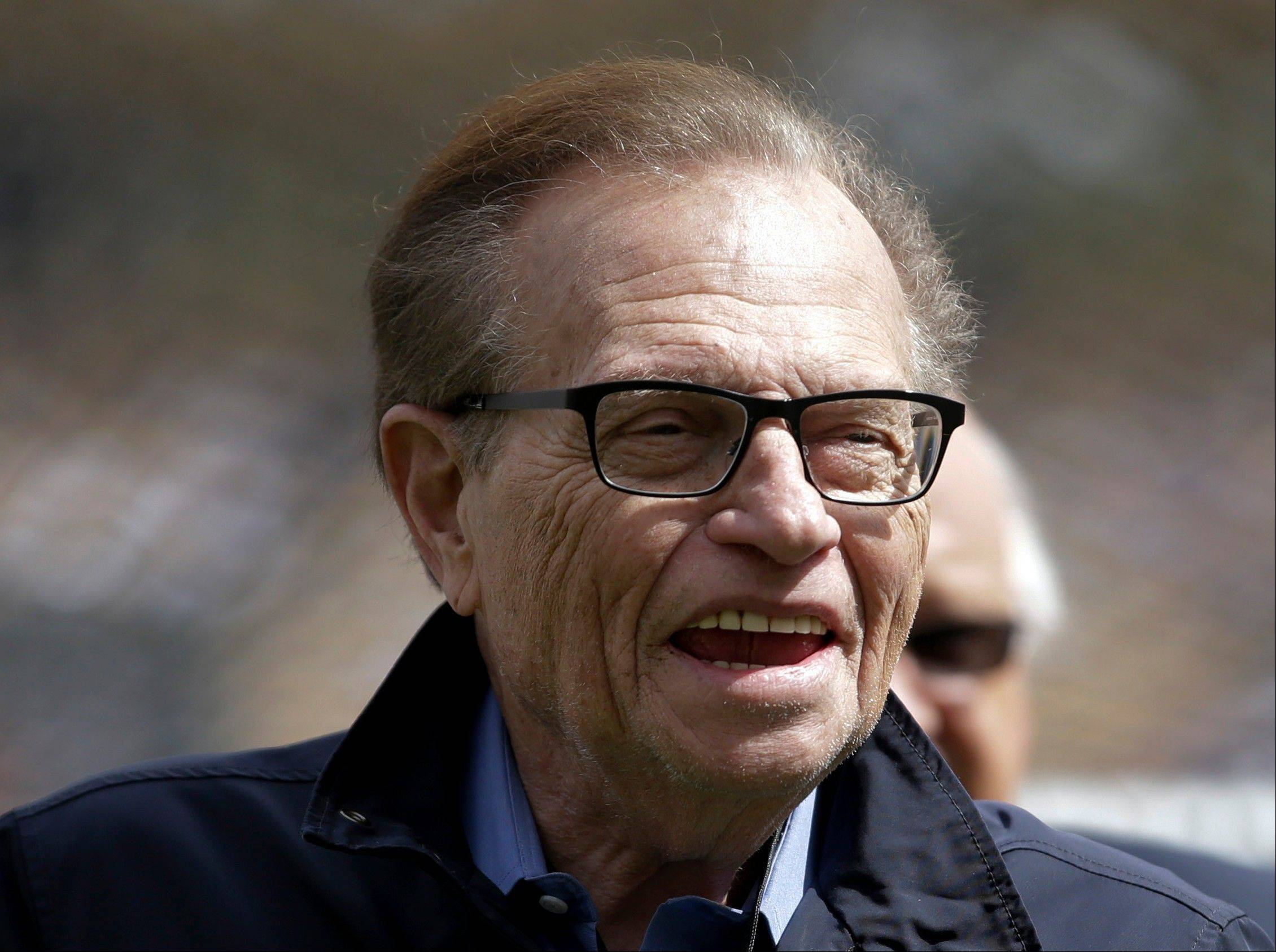Talk show host Larry King will launch a new a political talk show beginning next month.