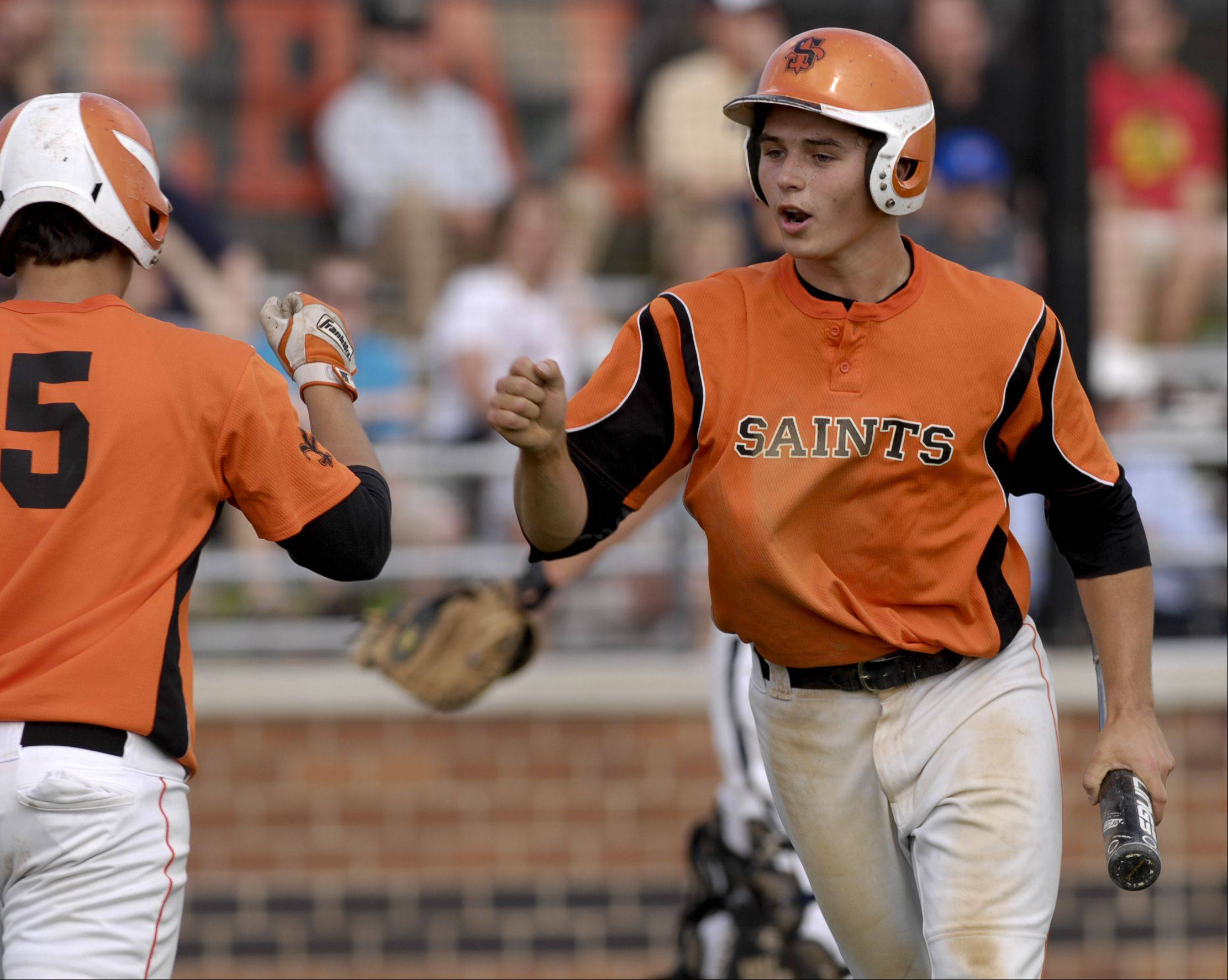 St. Charles East's Starai blanks Lake Park