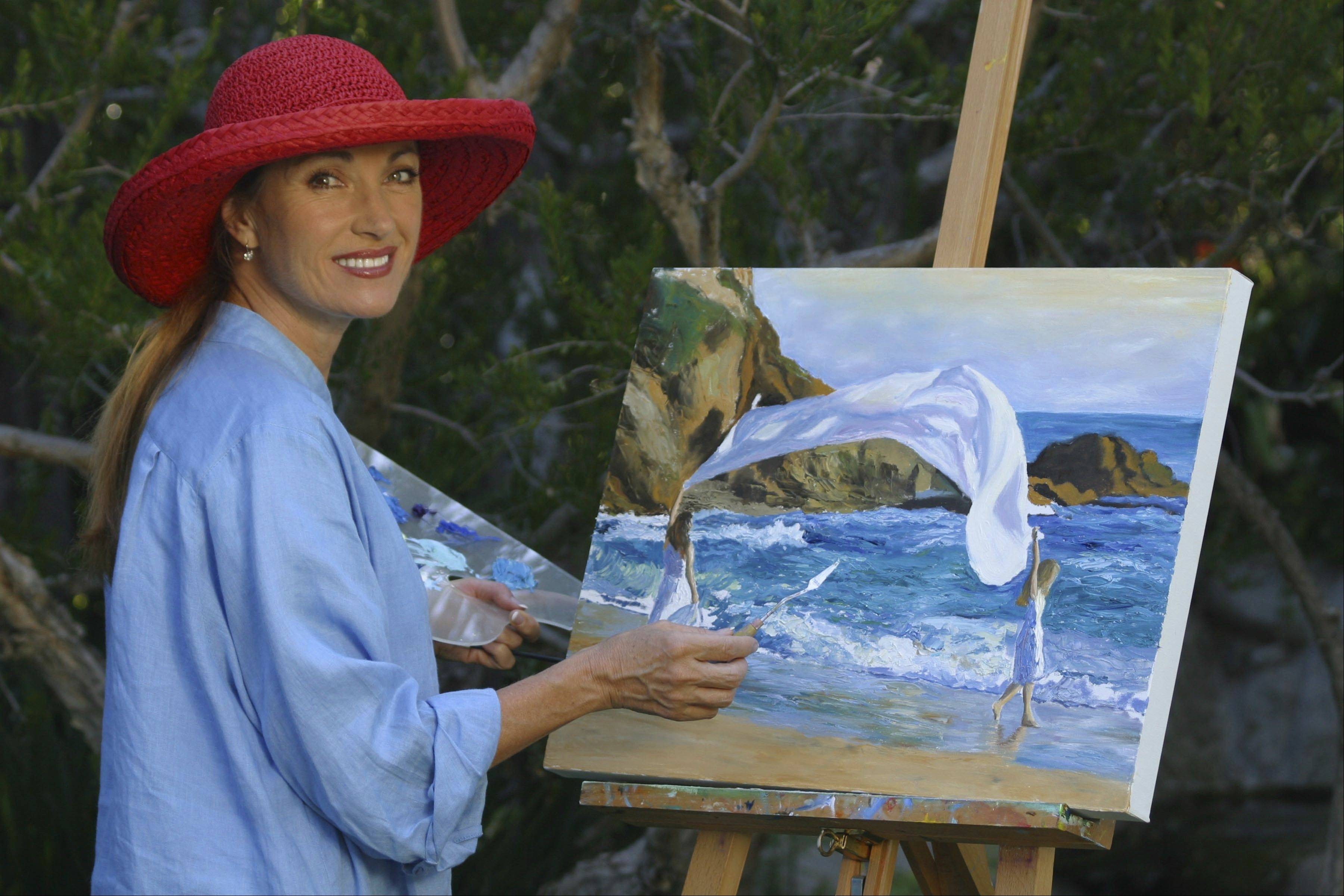 Actress and artist Jane Seymour will be on hand for a showing of her work at the Wentworth Gallery in Schaumburg.