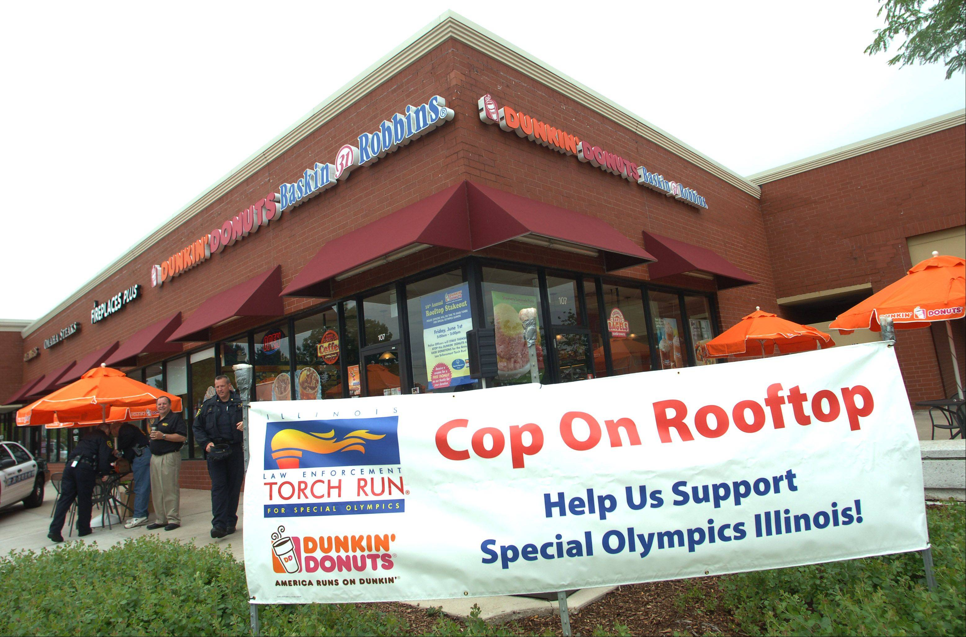 The Vernon Hills Dunkin' Donuts store at Route 60 and Milwaukee Avenue will be the spot again this year for the Special Olympics fundraiser.