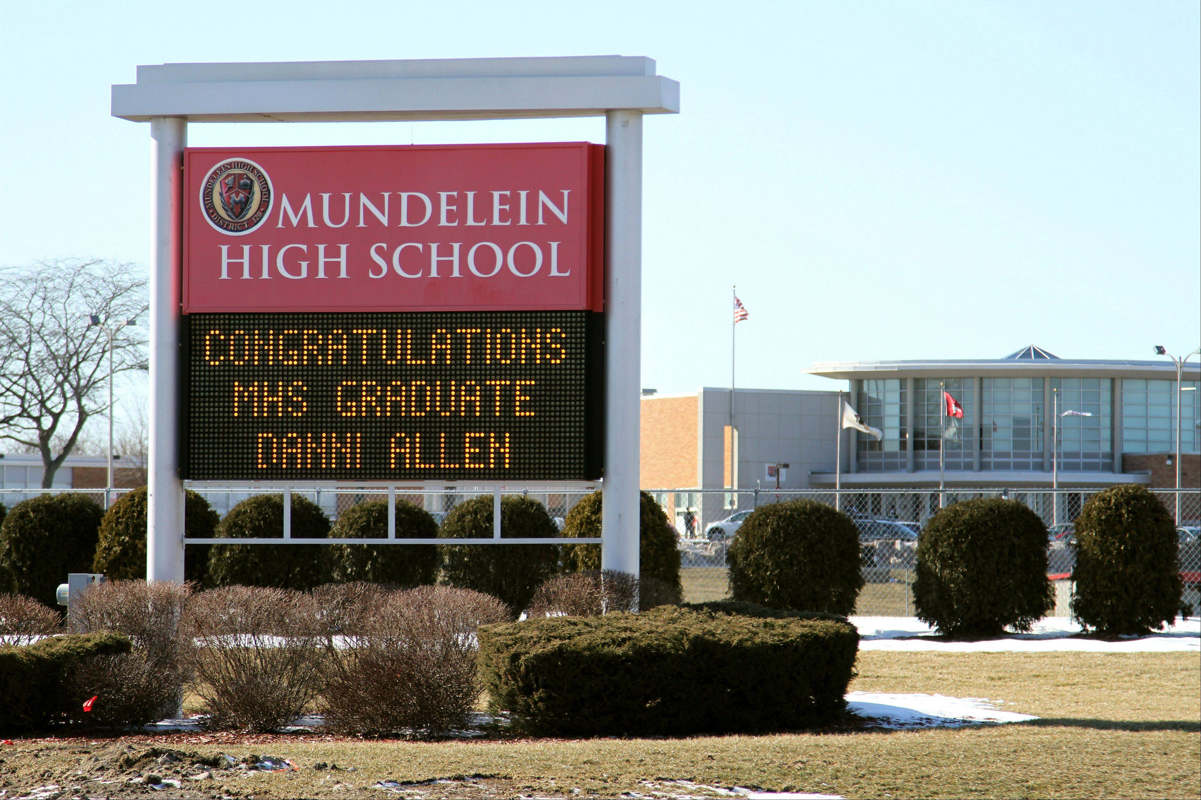 Mundelein High School will continue to sell Coca-Cola products in vending machines.