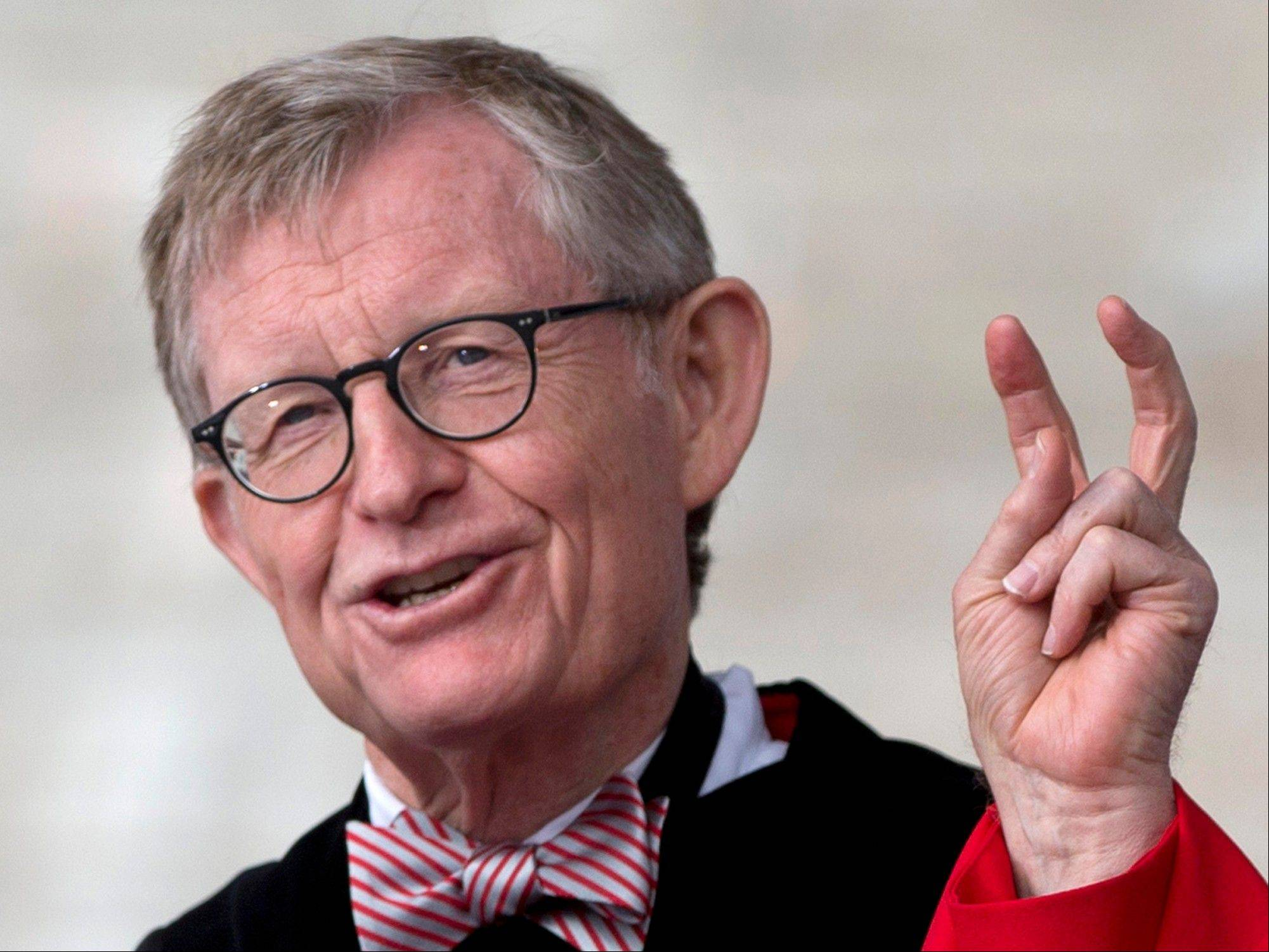 "Ohio State president E. Gordon Gee told a university committee last December that Notre Dame wasn't invited to join the Big Ten because they're not good partners while also jokingly saying that ""those damn Catholics"" can't be trusted."