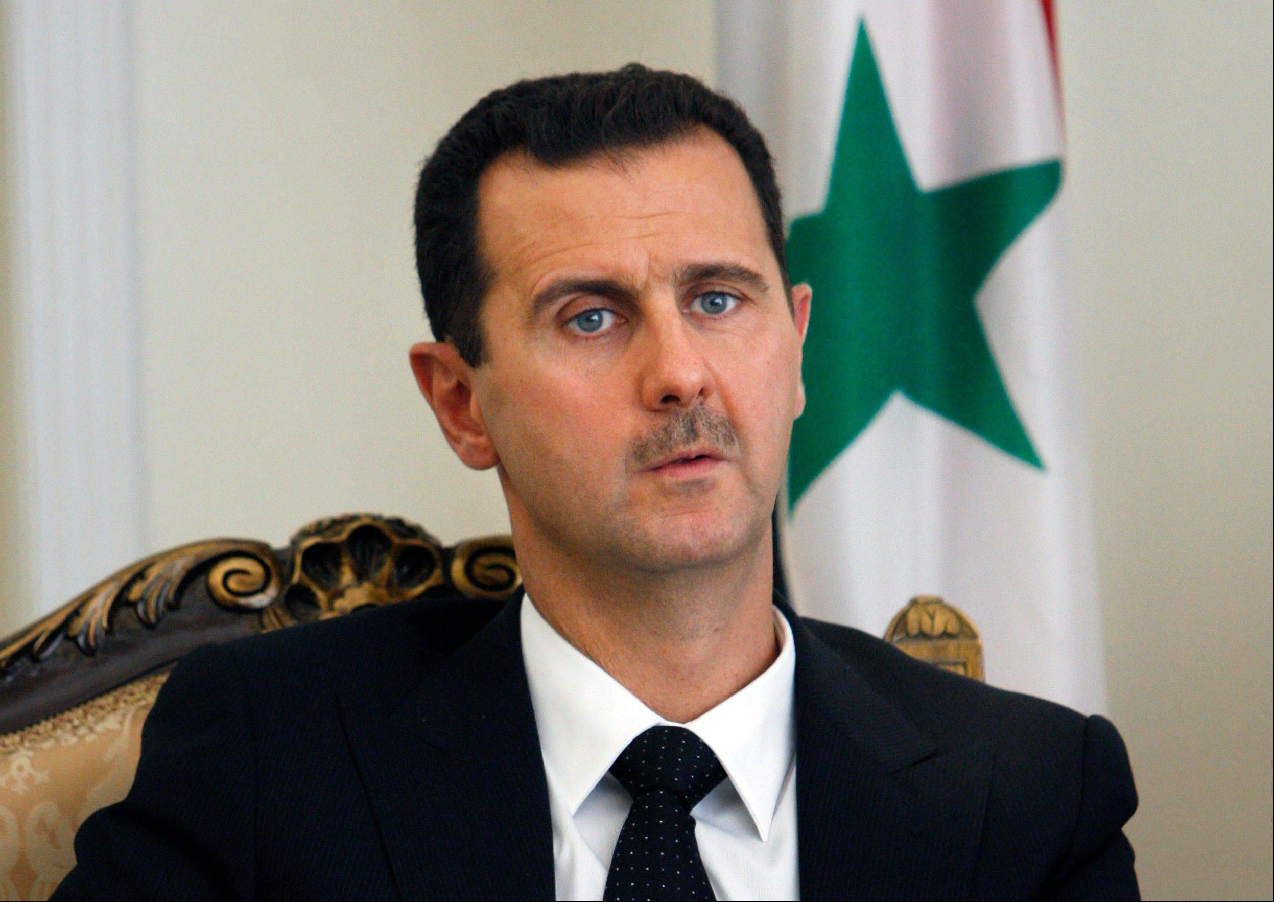 Syrian President Bashar Assad has been quoted by a Lebanese TV as saying the first shipment of Russian air defense missiles has arrived in his country. Al-Manar TV, owned by the militant Hezbollah group, is to air an exclusive interview with Assad later Thursday, May 30, 2013.