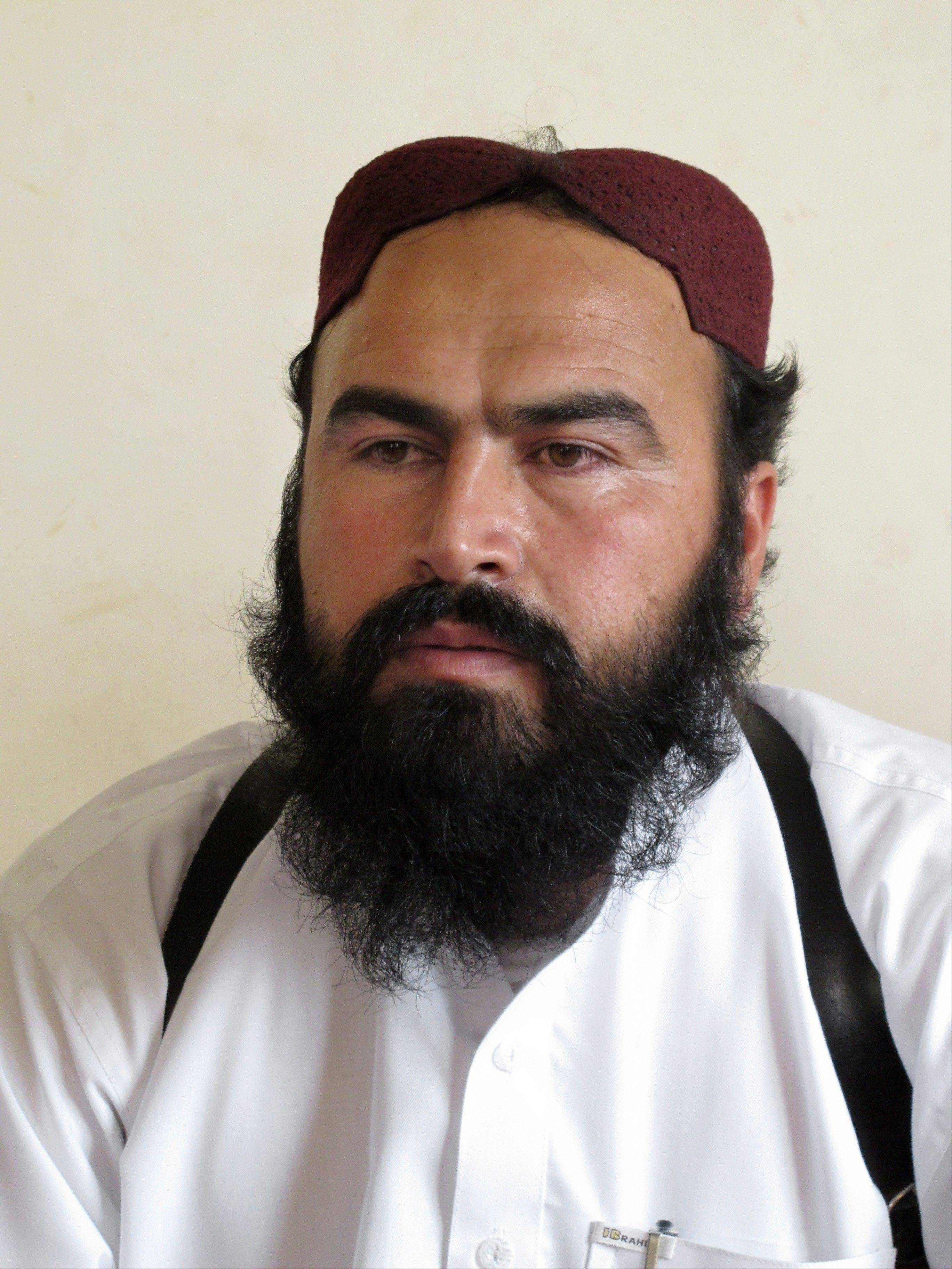 Associated Press File Photo, 2011Taliban No. 2 commander Waliur Rehman. Pakistani intelligence officials say the Pakistani Taliban's deputy leader was buried hours after he was killed in a U.S. drone strike.