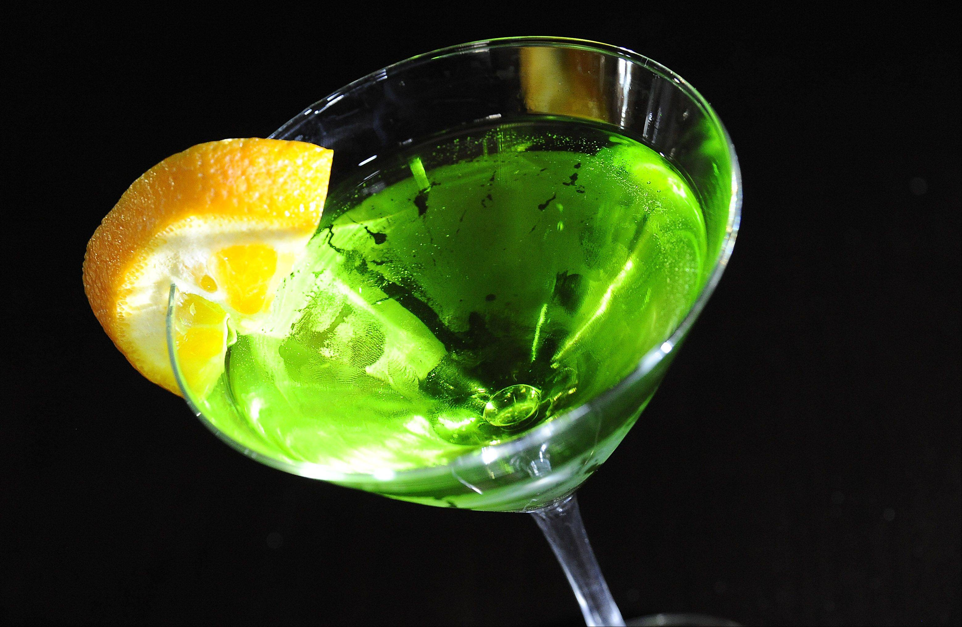 The Caribbean martini is a cool summer drink at Wickets Bar and Grill in Schaumburg.