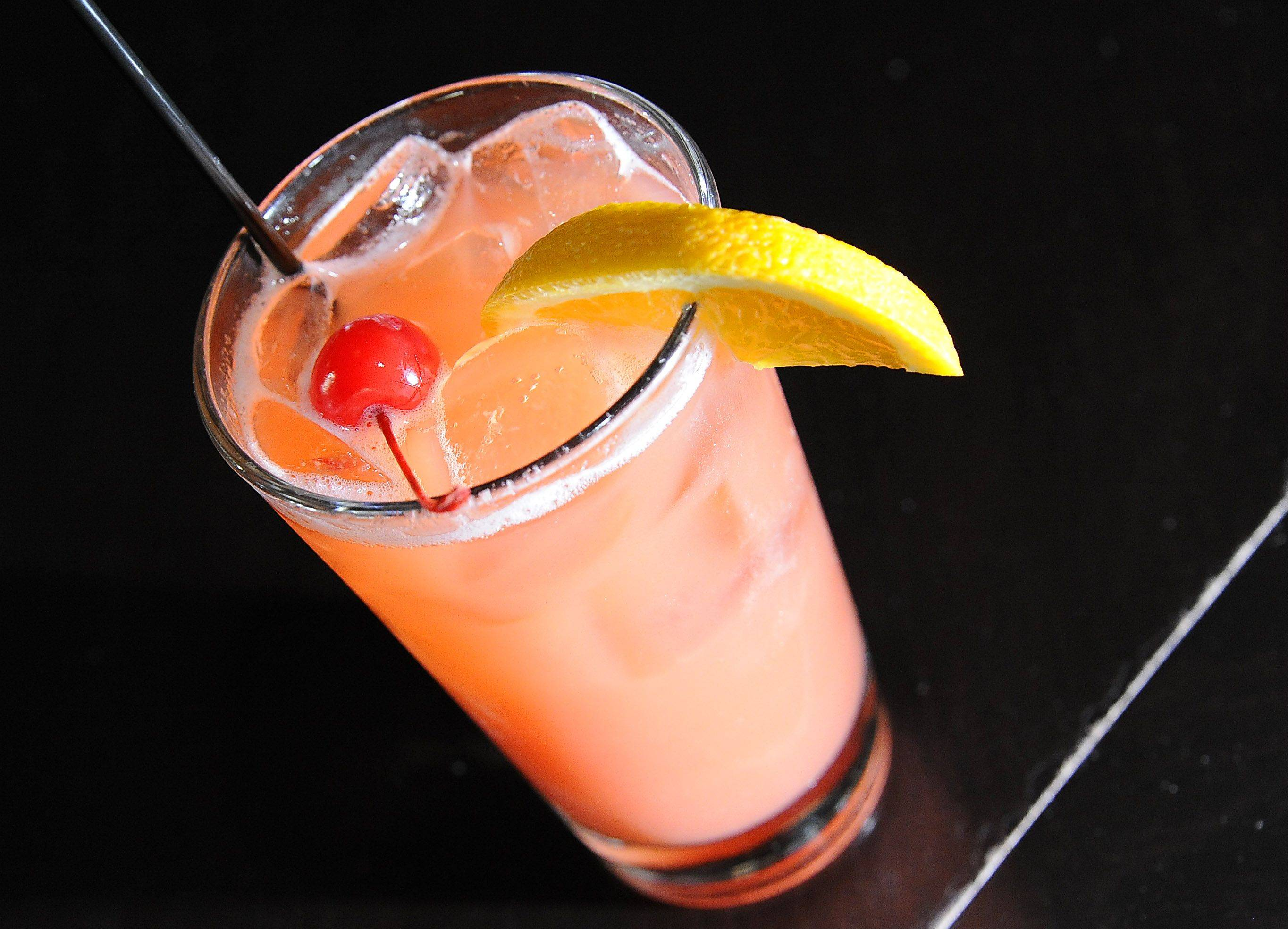 The Cardinal Punch is one of the summer drink options at Wickets Bar and Grill in Schaumburg.