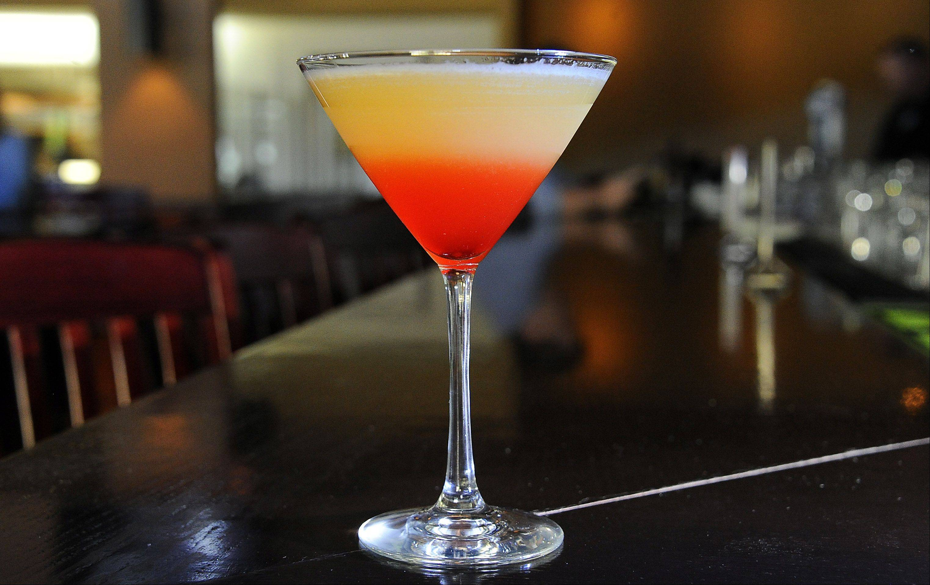 Cool off -- and save calories -- with the Bikini-tini at Wickets Bar and Grill in Schaumburg.