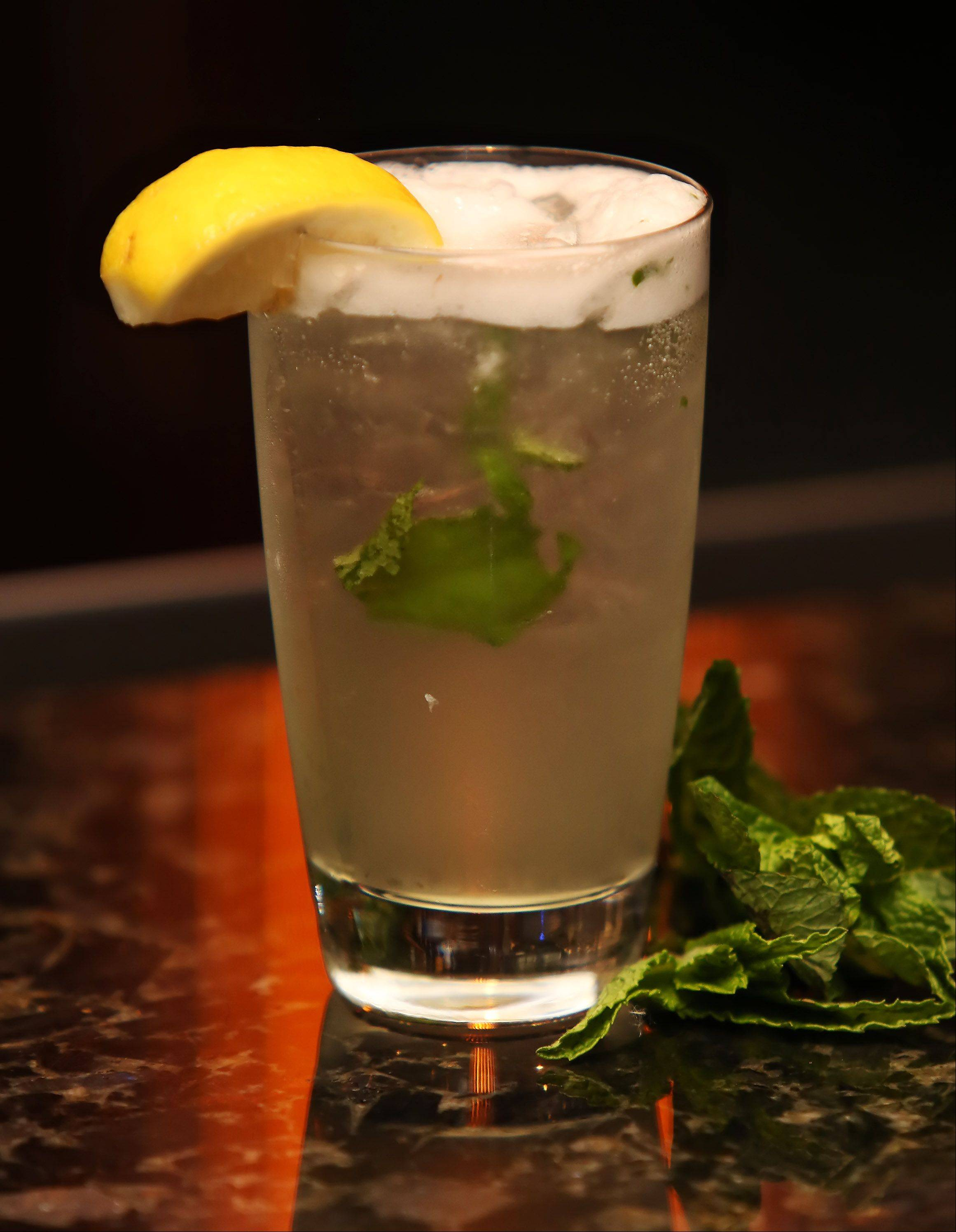 Spiked mint lemonade will debut in mid-June at Sullivan's Steakhouse in Lincolnshire.