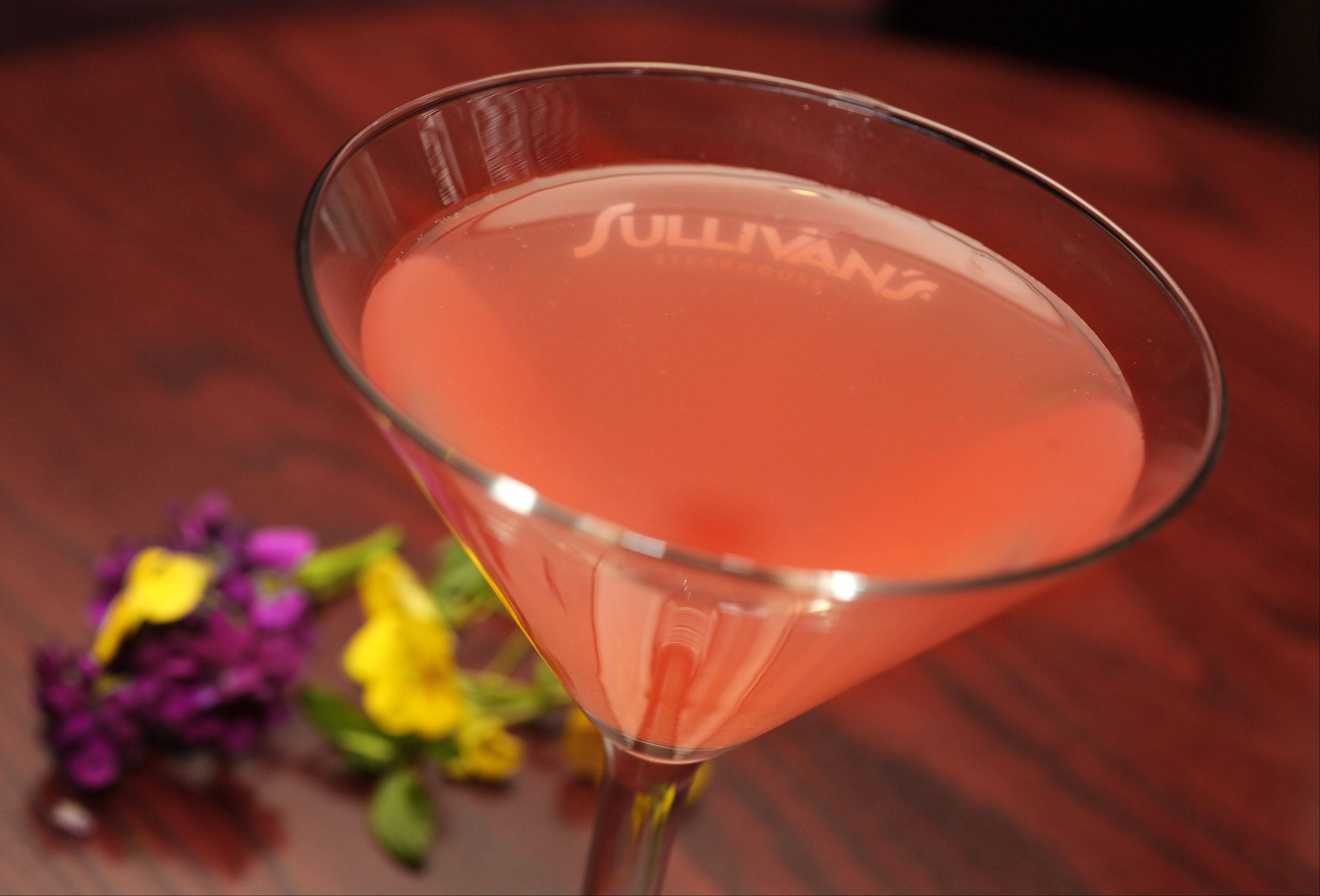 The grapefruit martini hits Sullivan's Steakhouse's menu in mid-June.