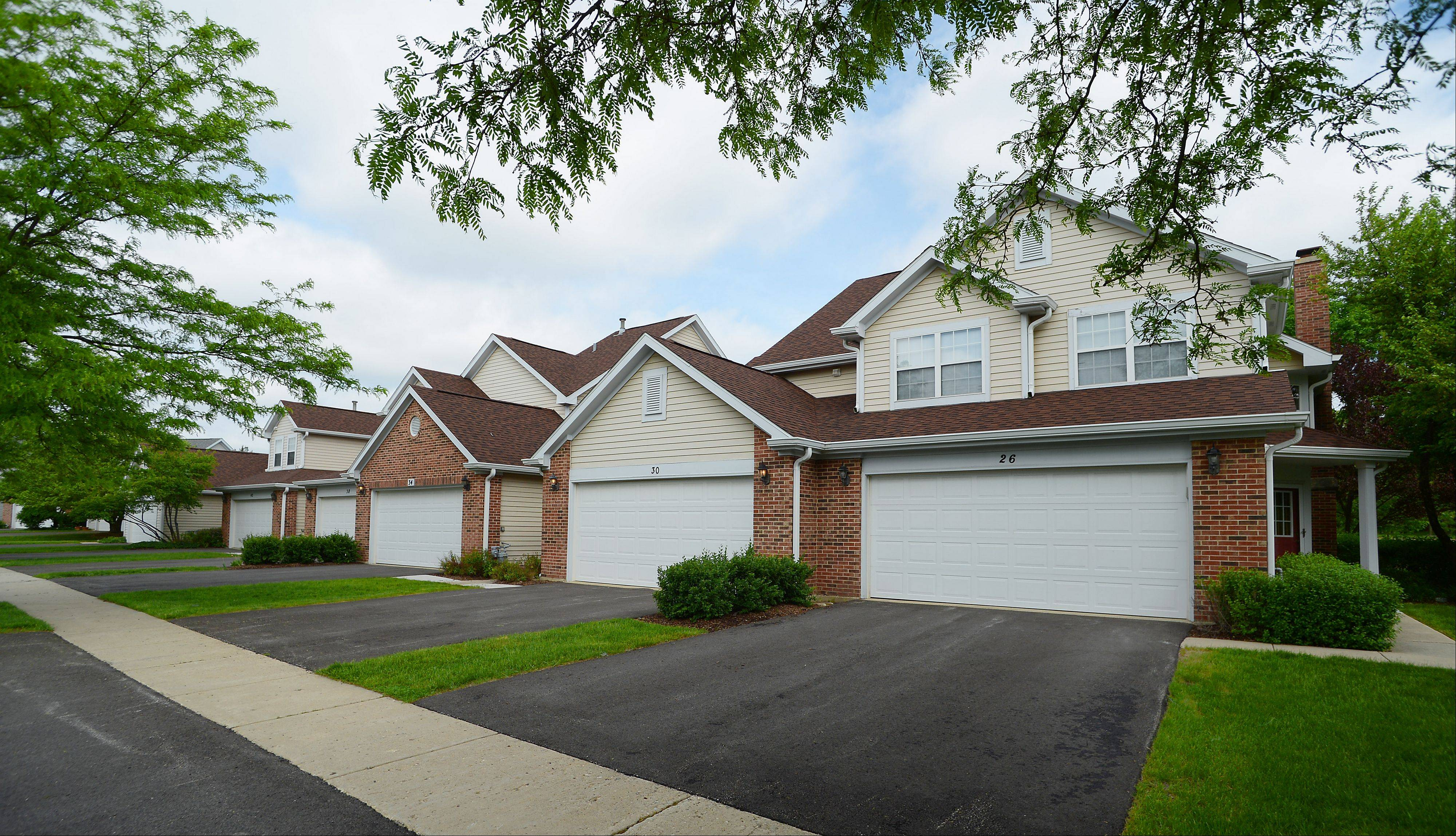 Autumn Ridge is a community of 140 townhouses in Schaumburg.