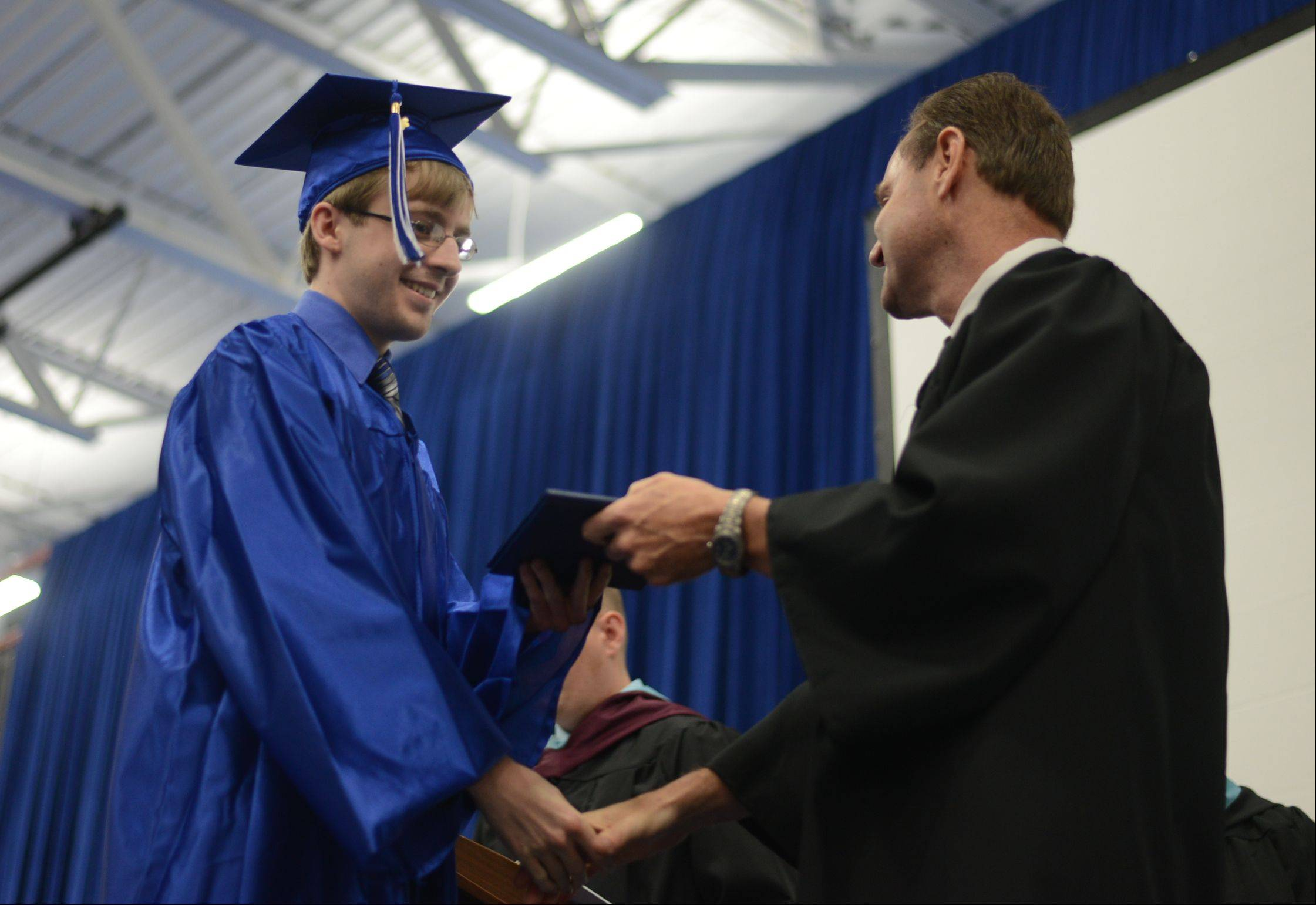 Images from the Burlington Central High School graduation ceremony Friday, May 31 at Elgin Community College in Elgin.