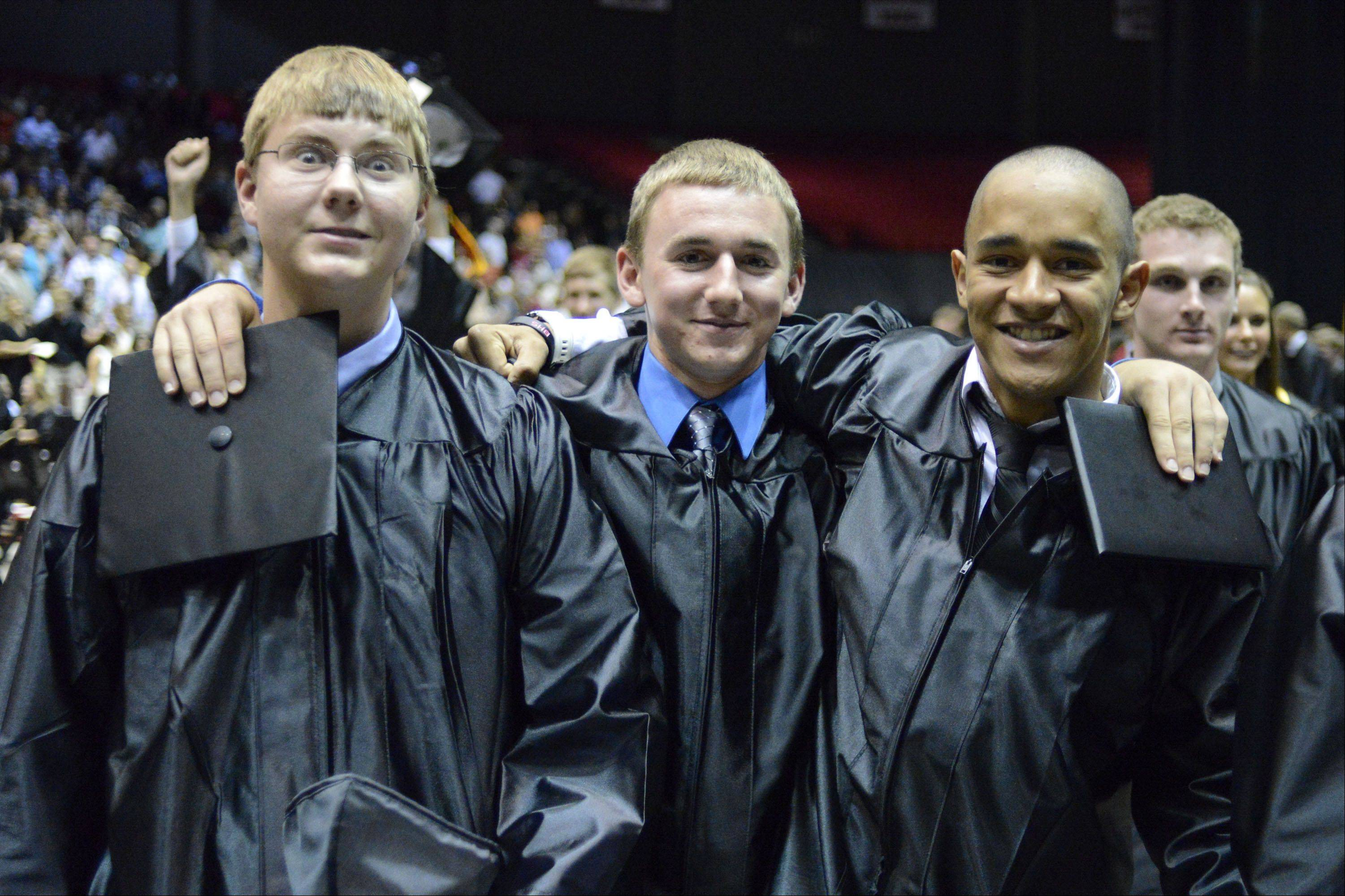 Images from the Batavia High School graduation ceremony Friday, May 31, 2013 at the NIU convocation center in Dekalb.