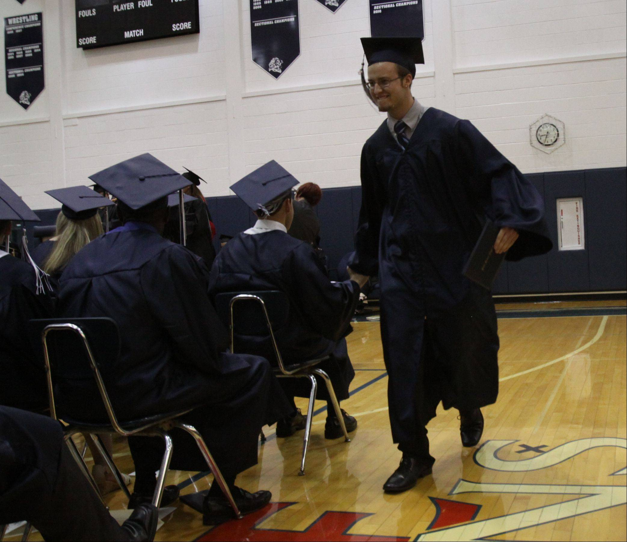 Images from the Lisle High School graduation on Friday, May 31 at the school in Lisle.