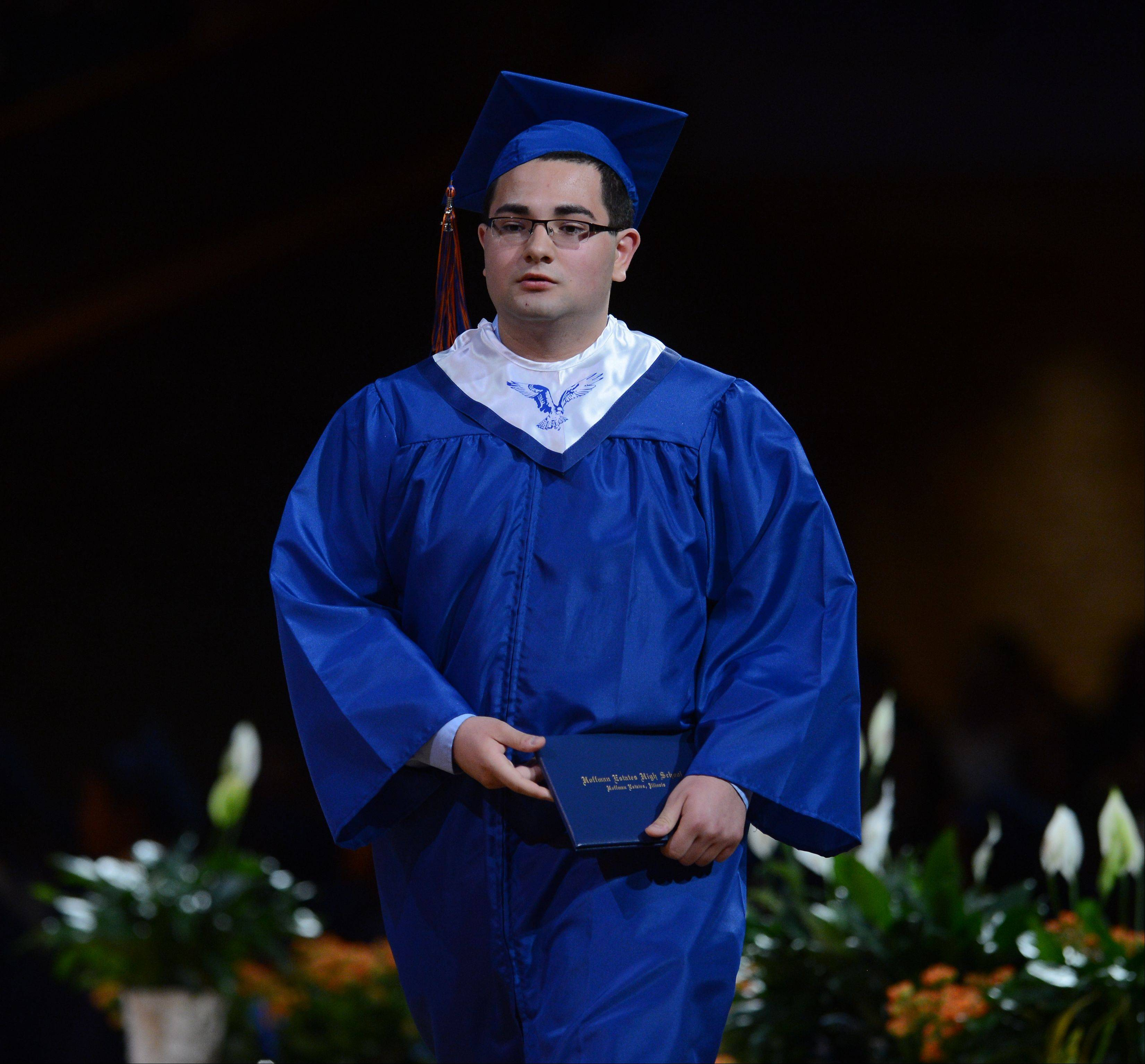 Images from the Hoffman Estates High School graduation on Thursday, May 30, at the Willow Creek church in South Barrington.
