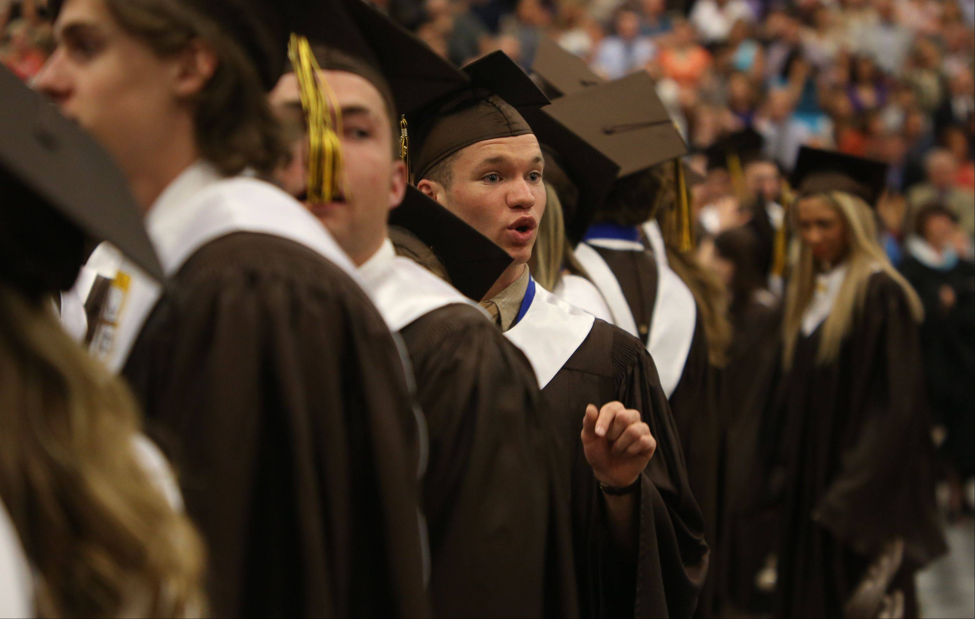 Images from the Carmel Catholic High School graduation on Thursday, May 30 in Mundelein.