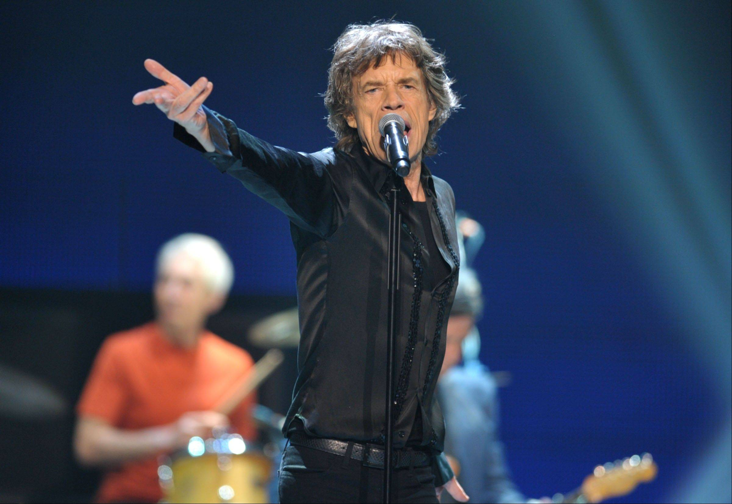 "Mick Jagger and the Rolling Stones bring their ""50 & Counting"" tour to the United Center in Chicago."